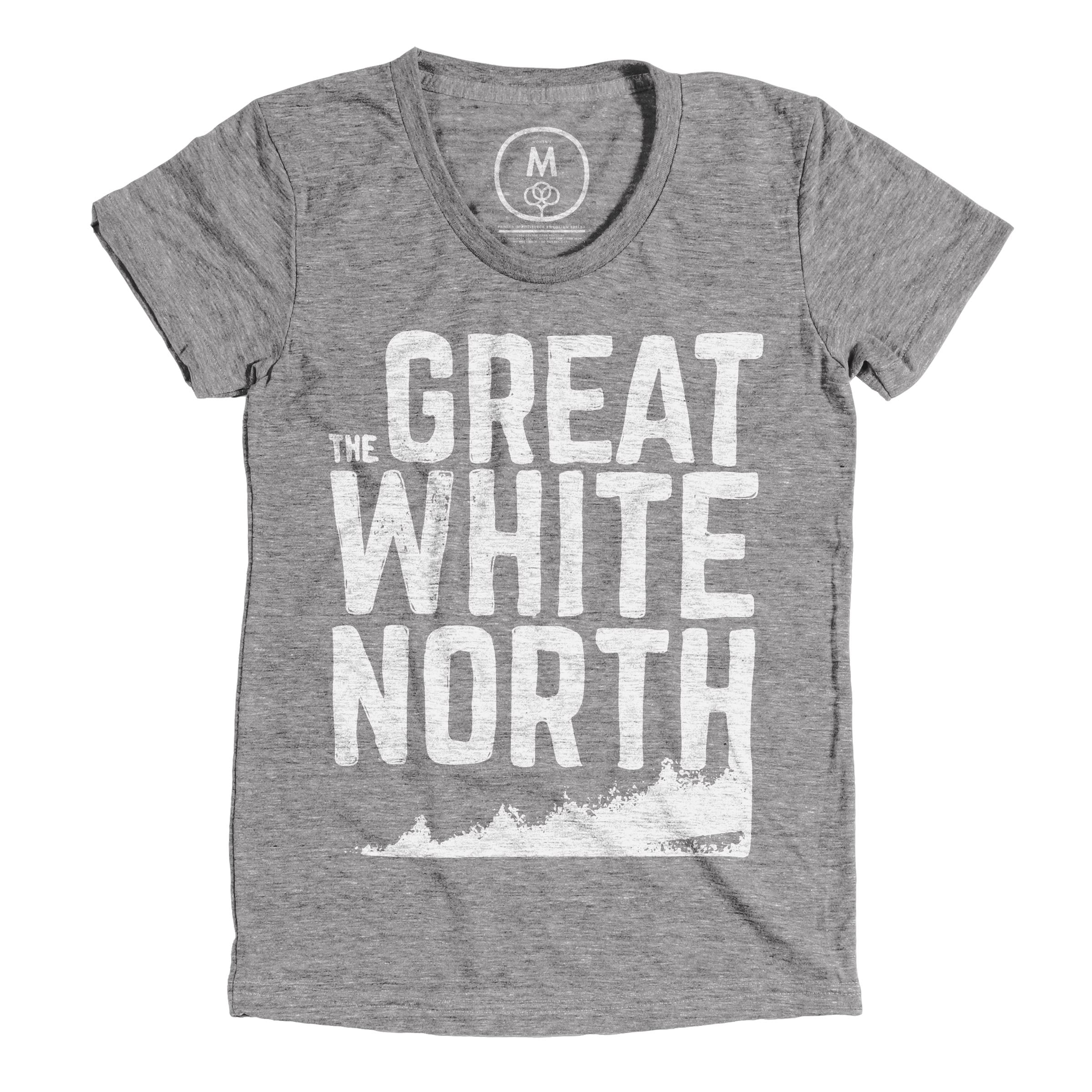 The Great White North Athletic Grey (Women's)