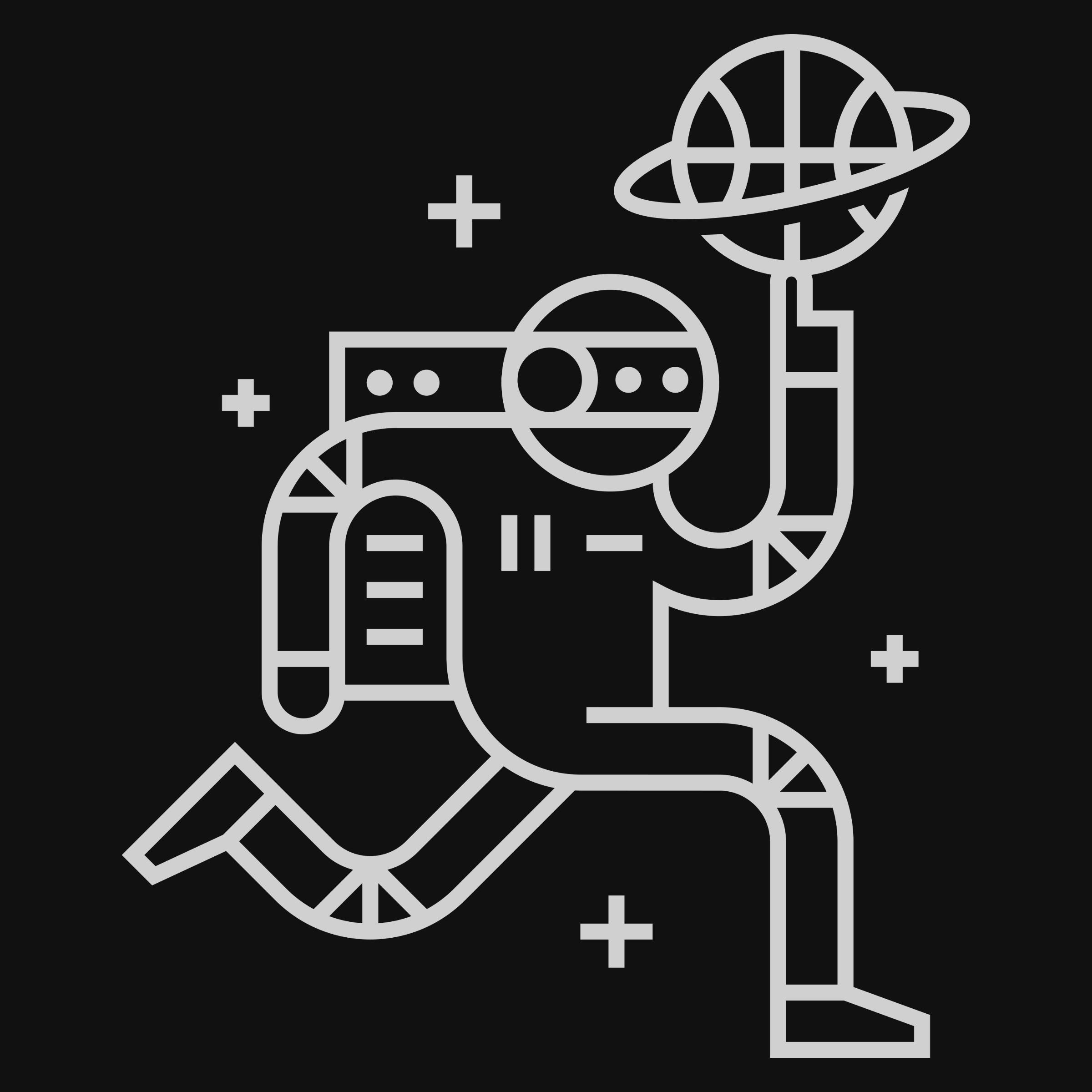 Space Ballin' Detail