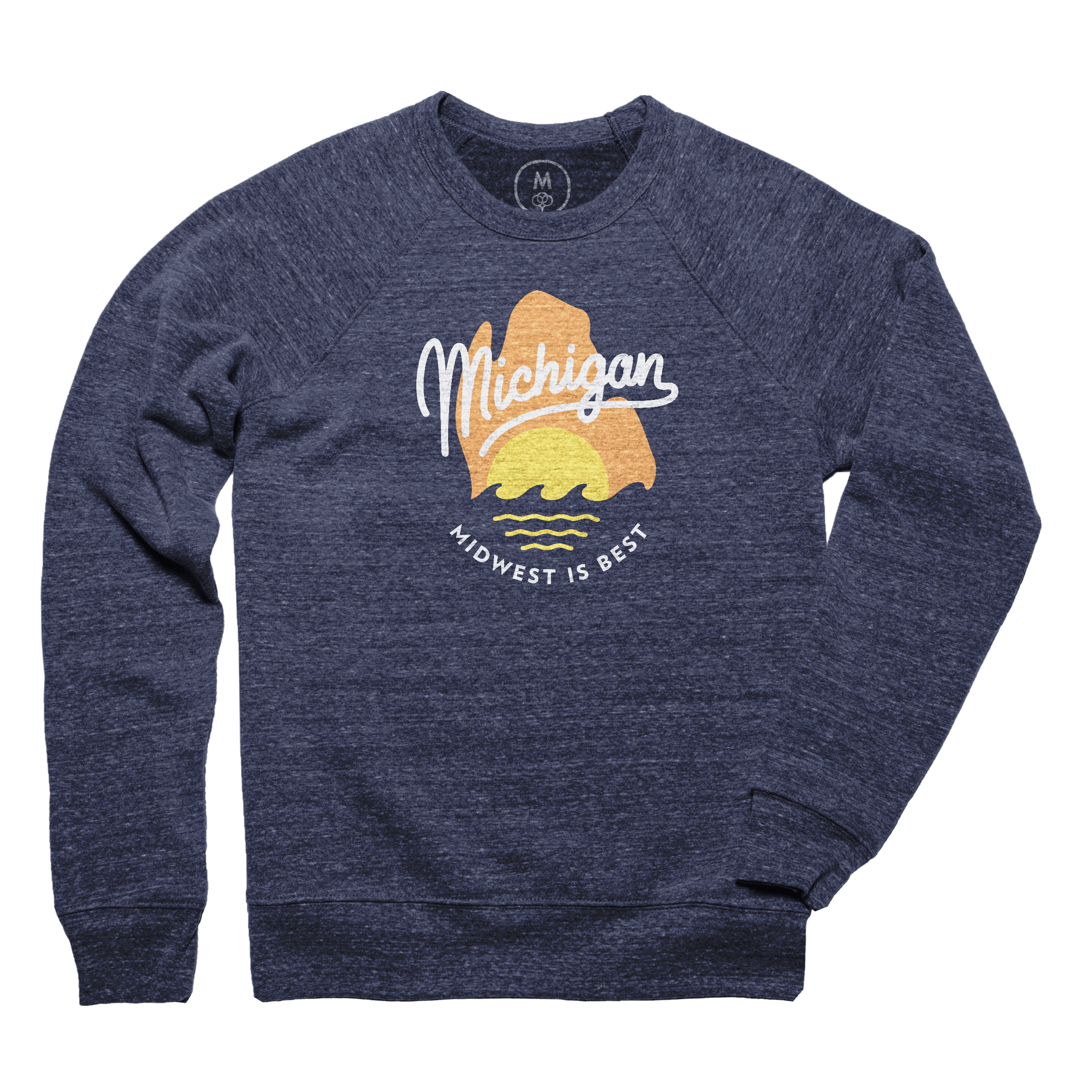 The Great Mitten State Pullover Crewneck