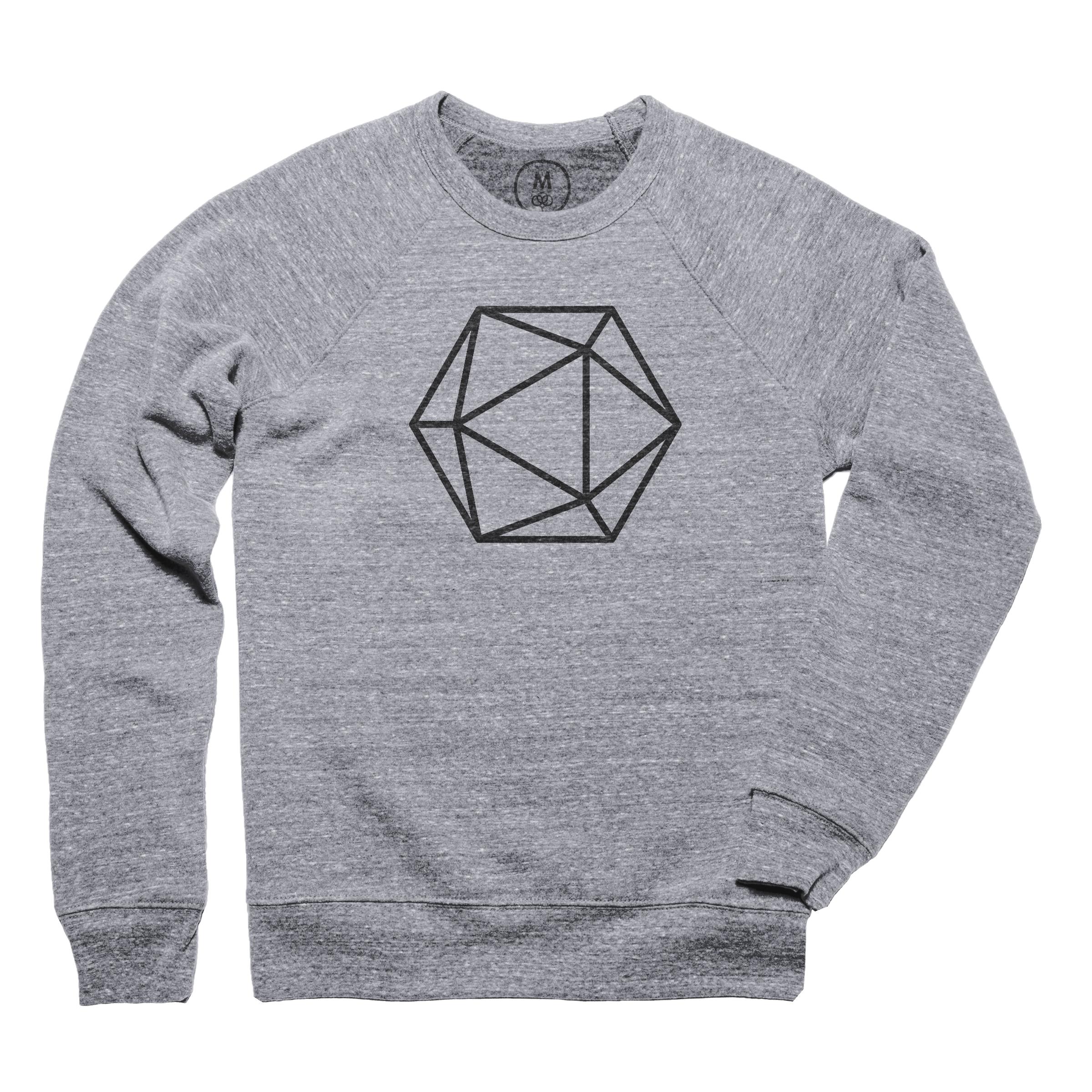Polyhedron Pullover Crewneck