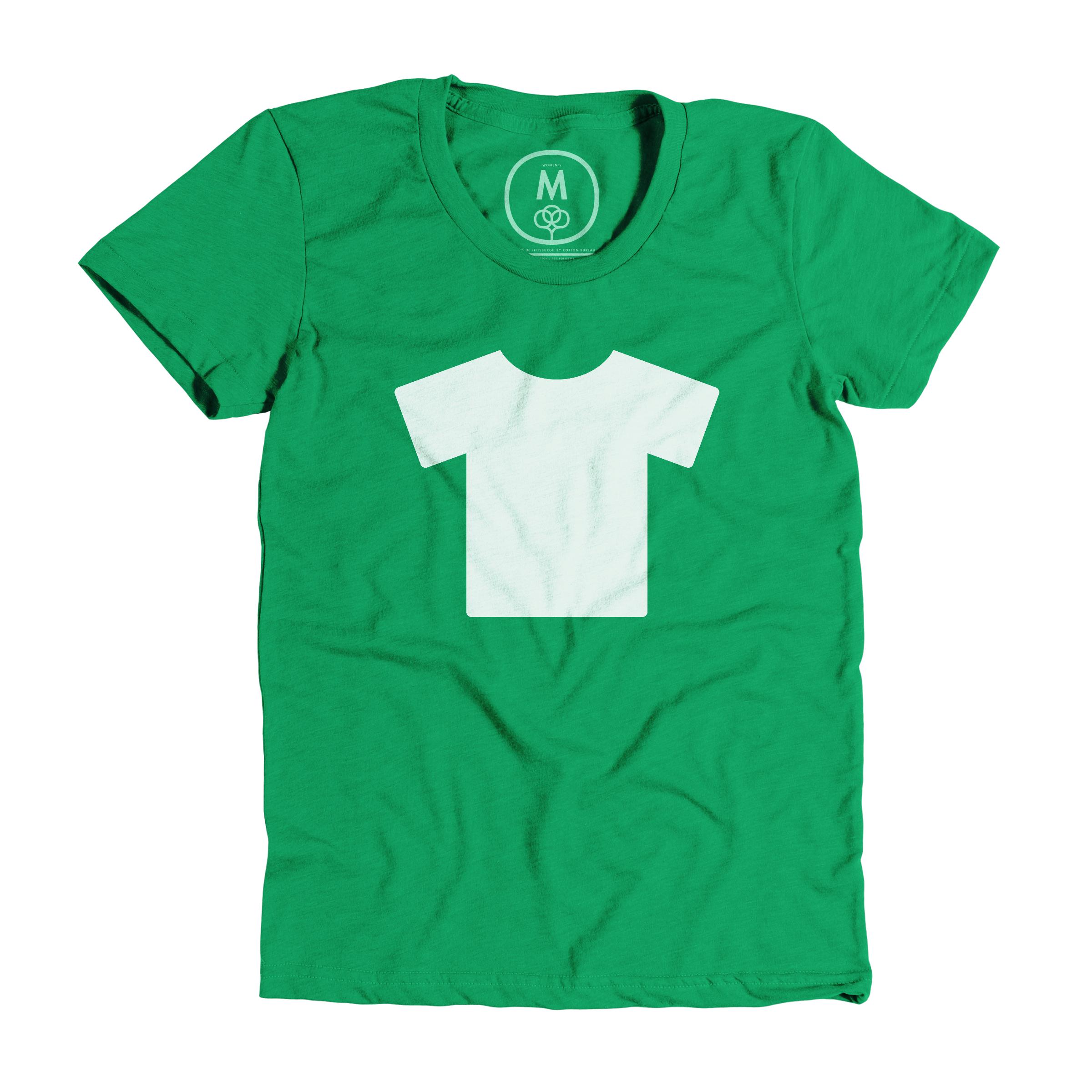 T-Shirt Kelly Green (Women's)