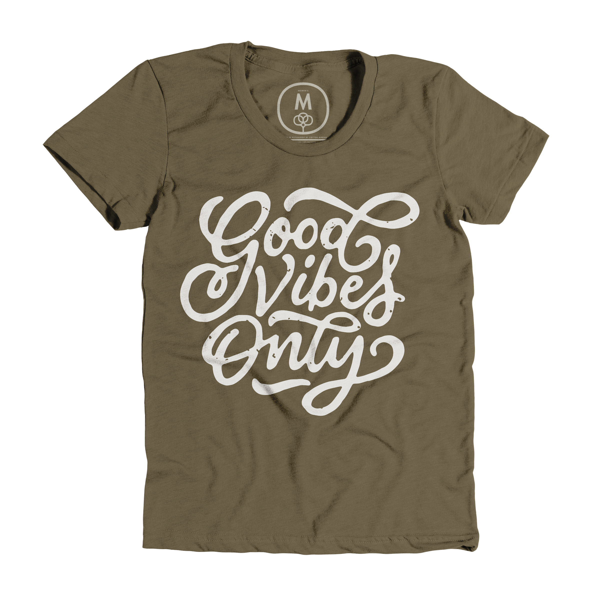 Good Vibes Only Military Green (Women's)