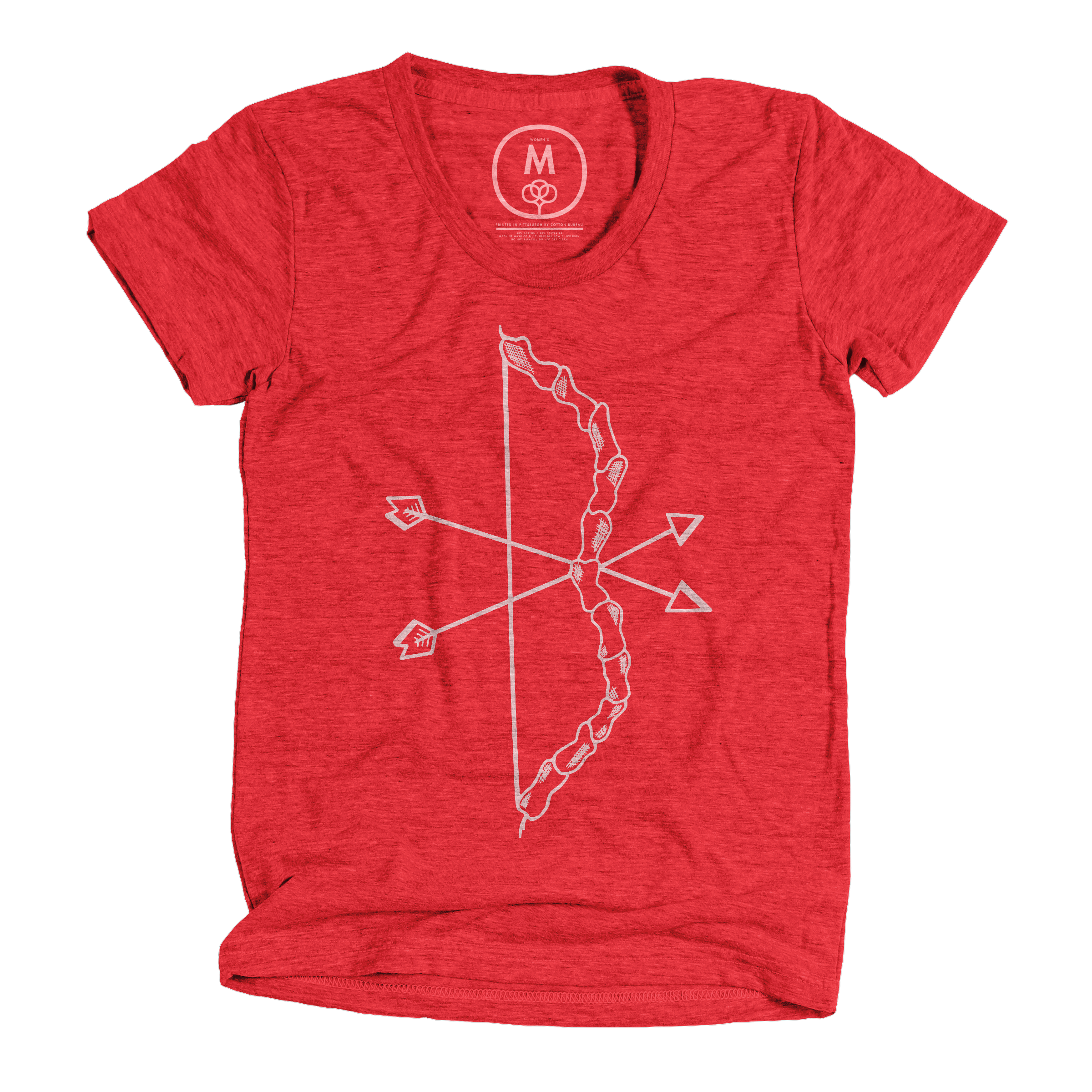 Bow and Arrow Vintage Red (Women's)