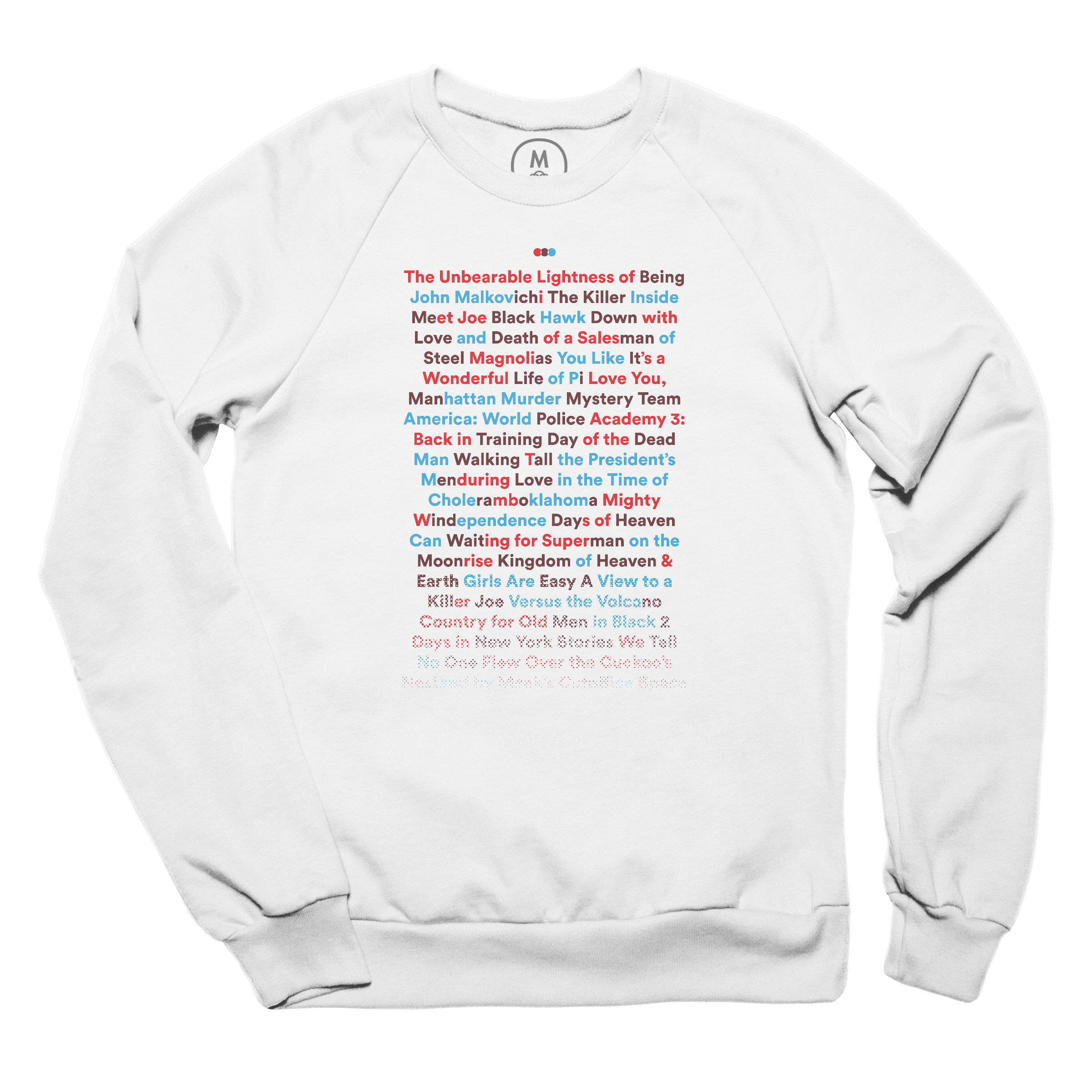 The NeverEnding Film Title Pullover Crewneck