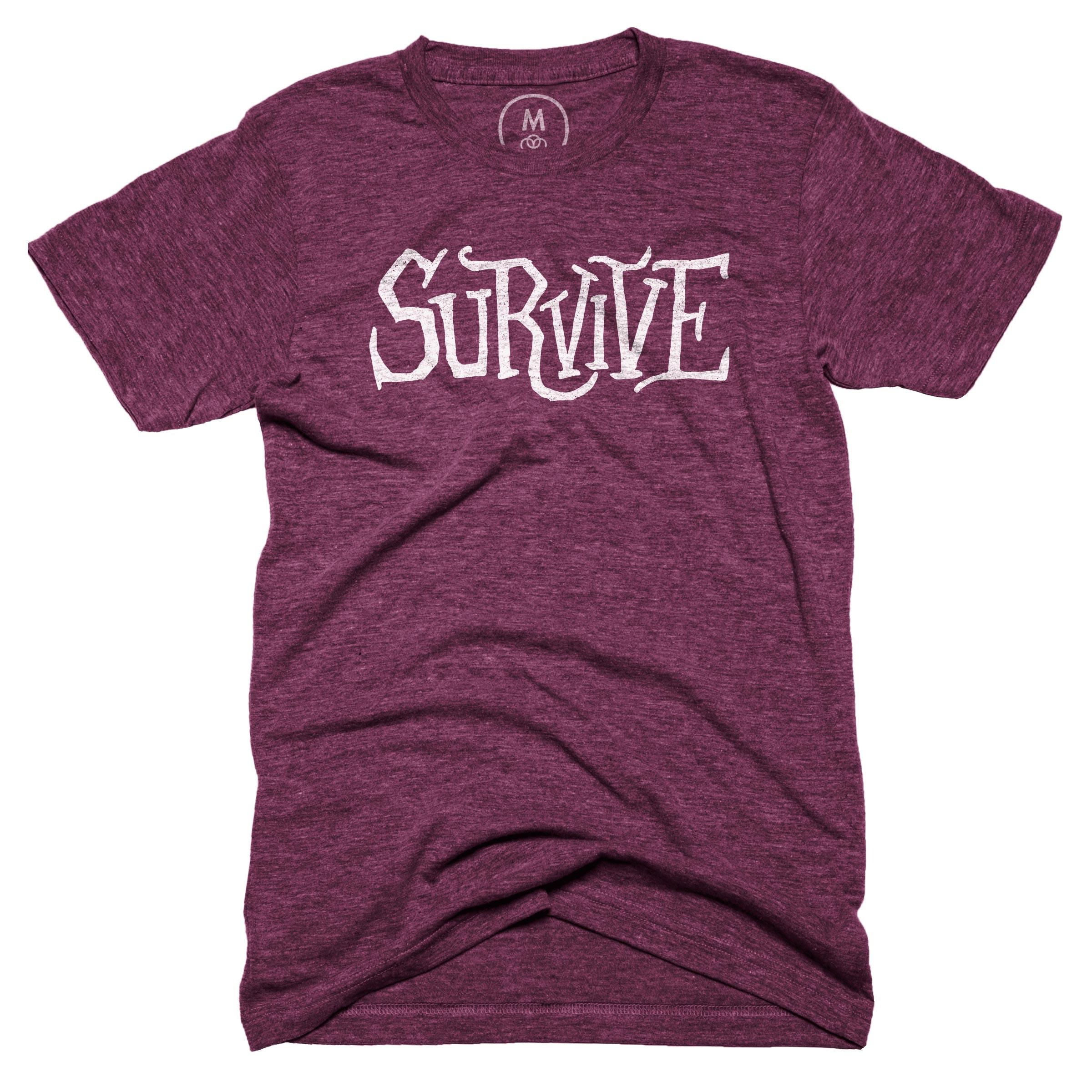 Survive Tri-Cranberry (Men's)
