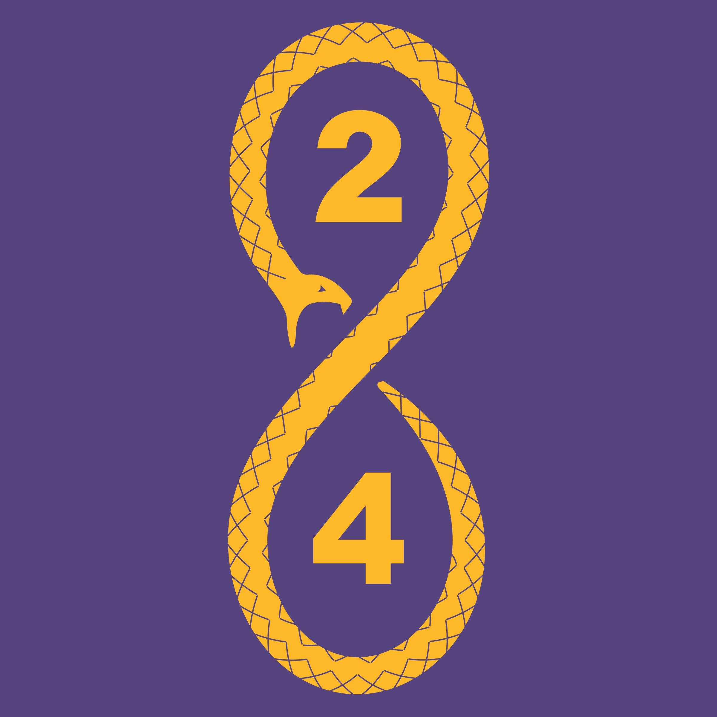 """Kobe Mamba Snake No. 8 / 24"""" graphic"""