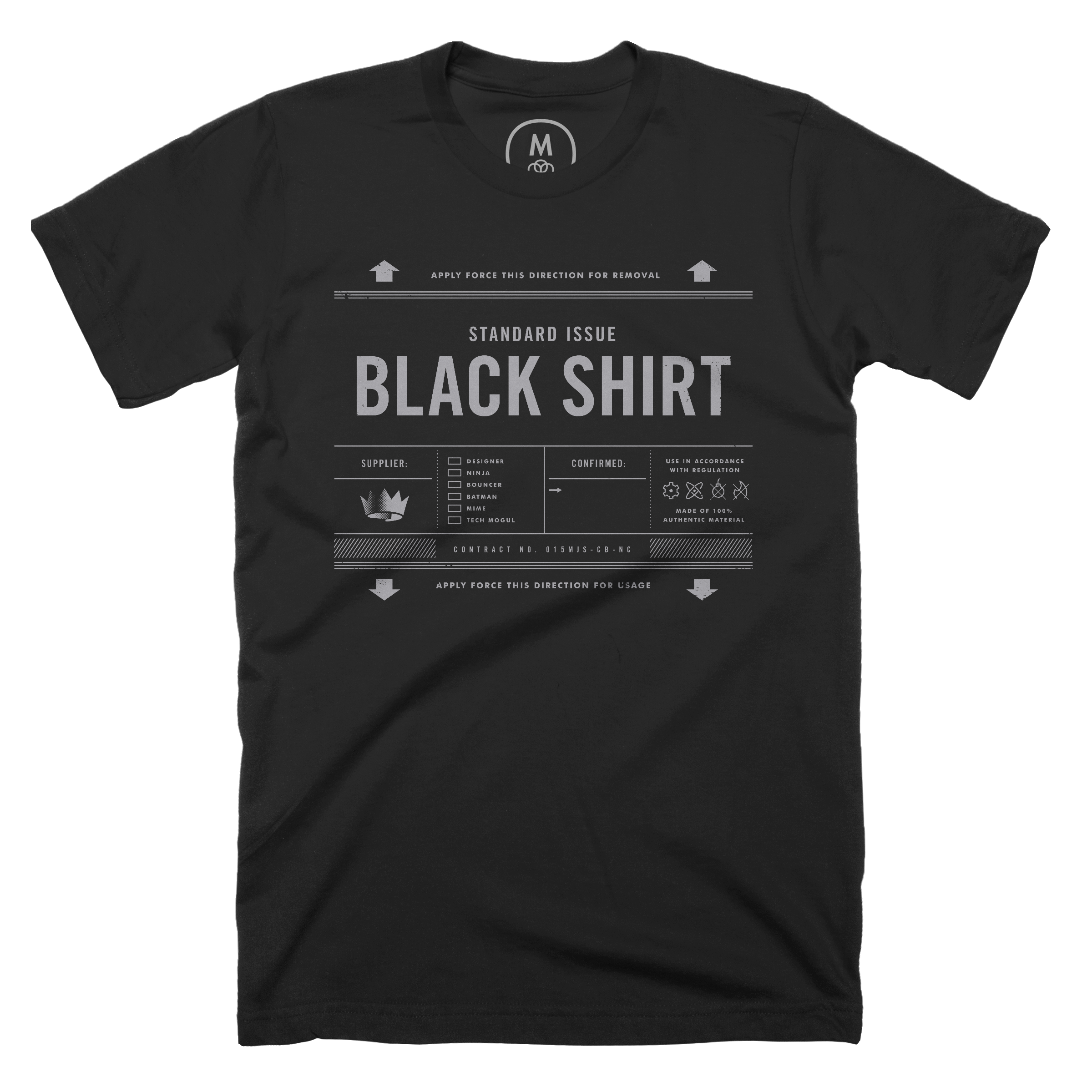 Standard Issue Black Shirt