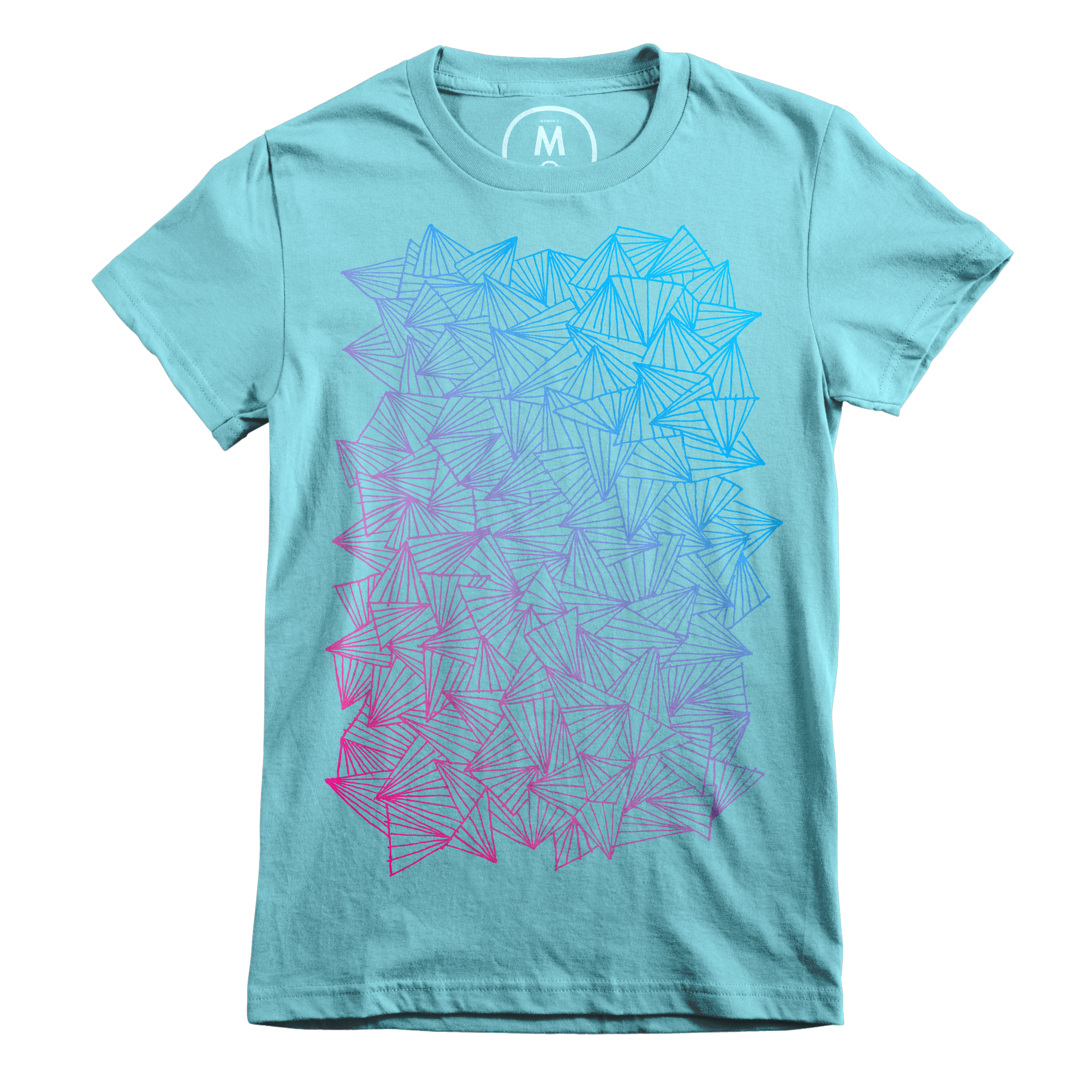 A Gaggle of Triangles Tahiti Blue (Women's)