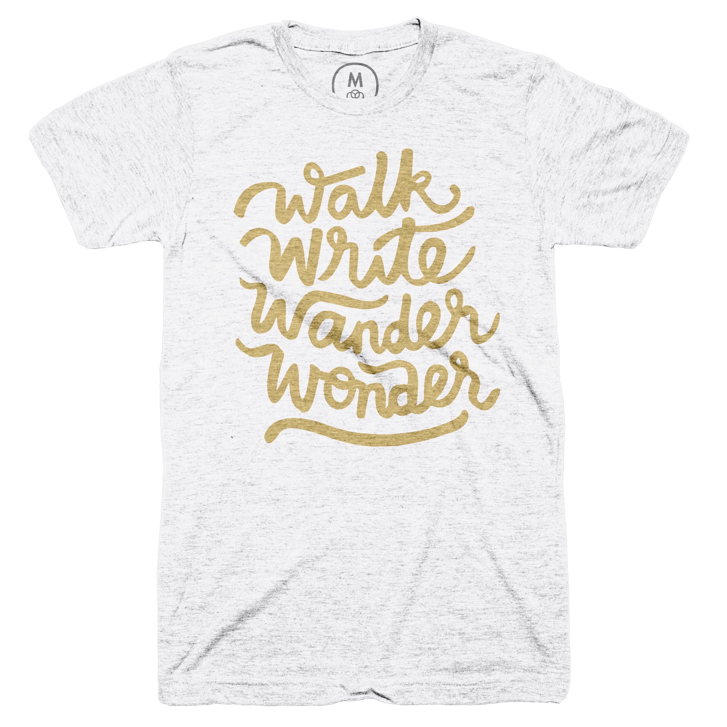 Walk, Write, Wander, Wonder Heather White (Men's)
