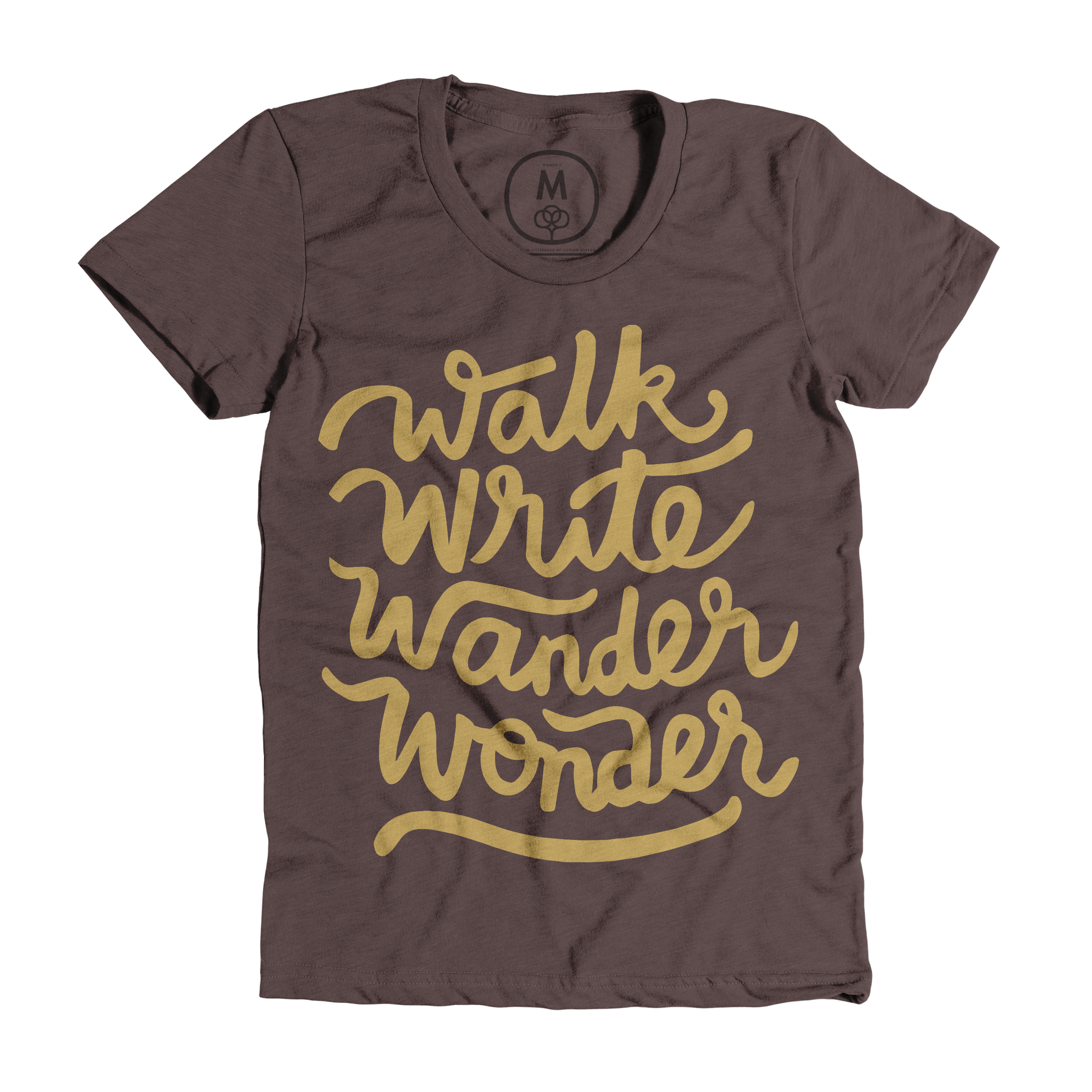 Walk, Write, Wander, Wonder Espresso (Women's)