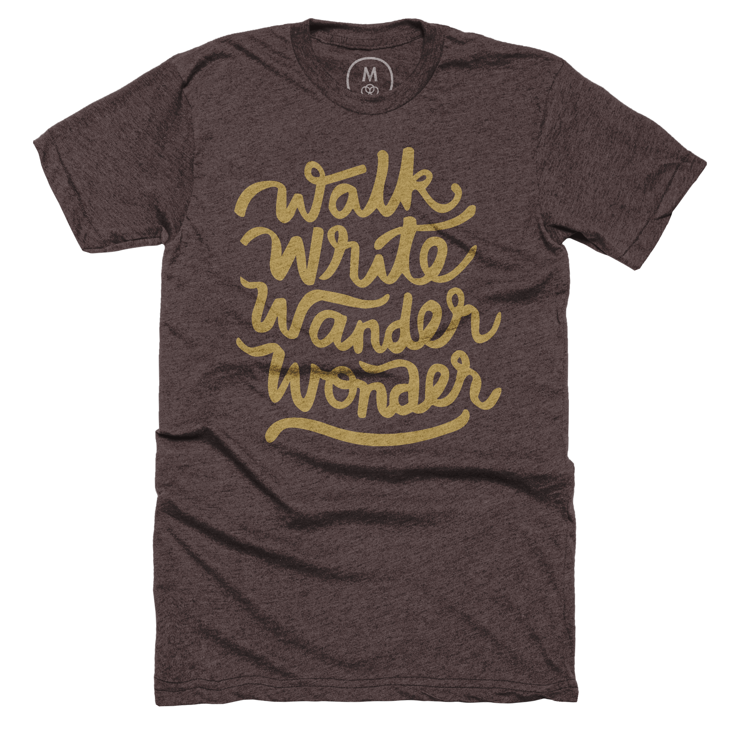 Walk, Write, Wander, Wonder Espresso (Men's)