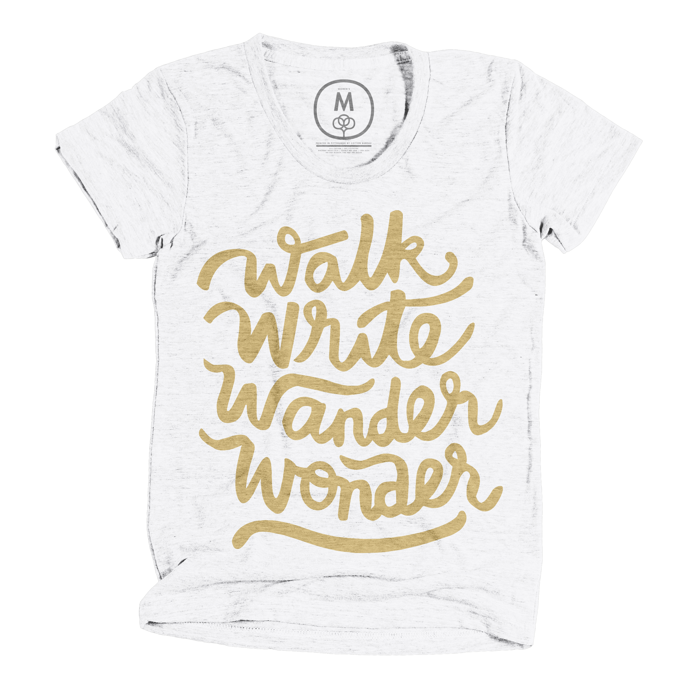 Walk, Write, Wander, Wonder Heather White (Women's)