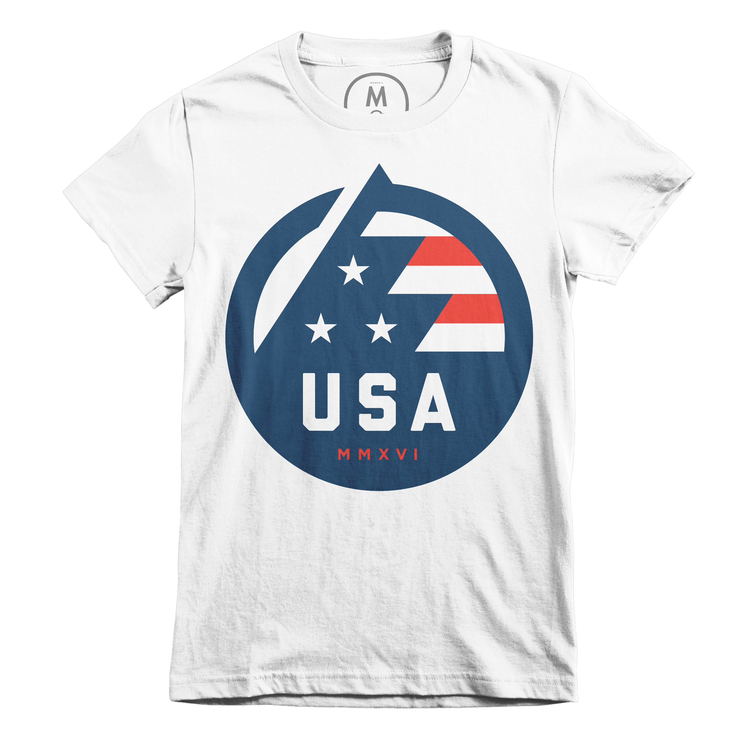USA All The Way White (Women's)