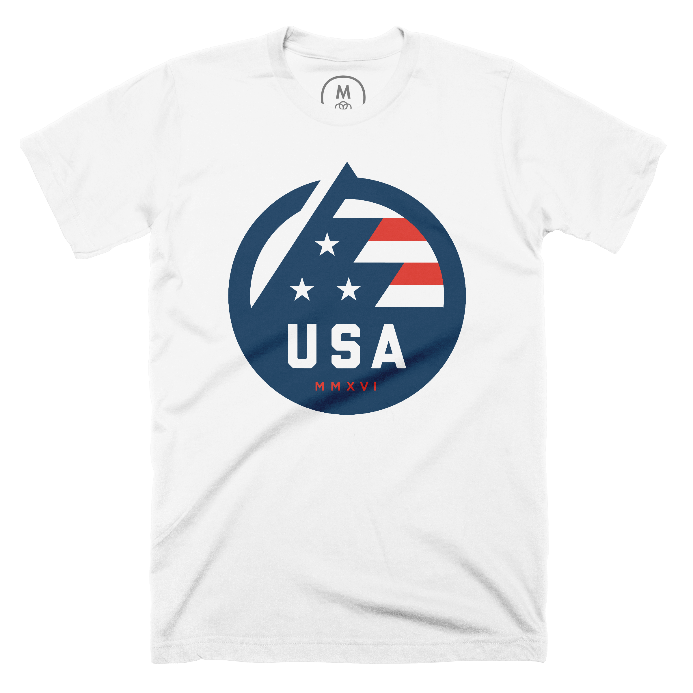 USA All The Way White (Men's)