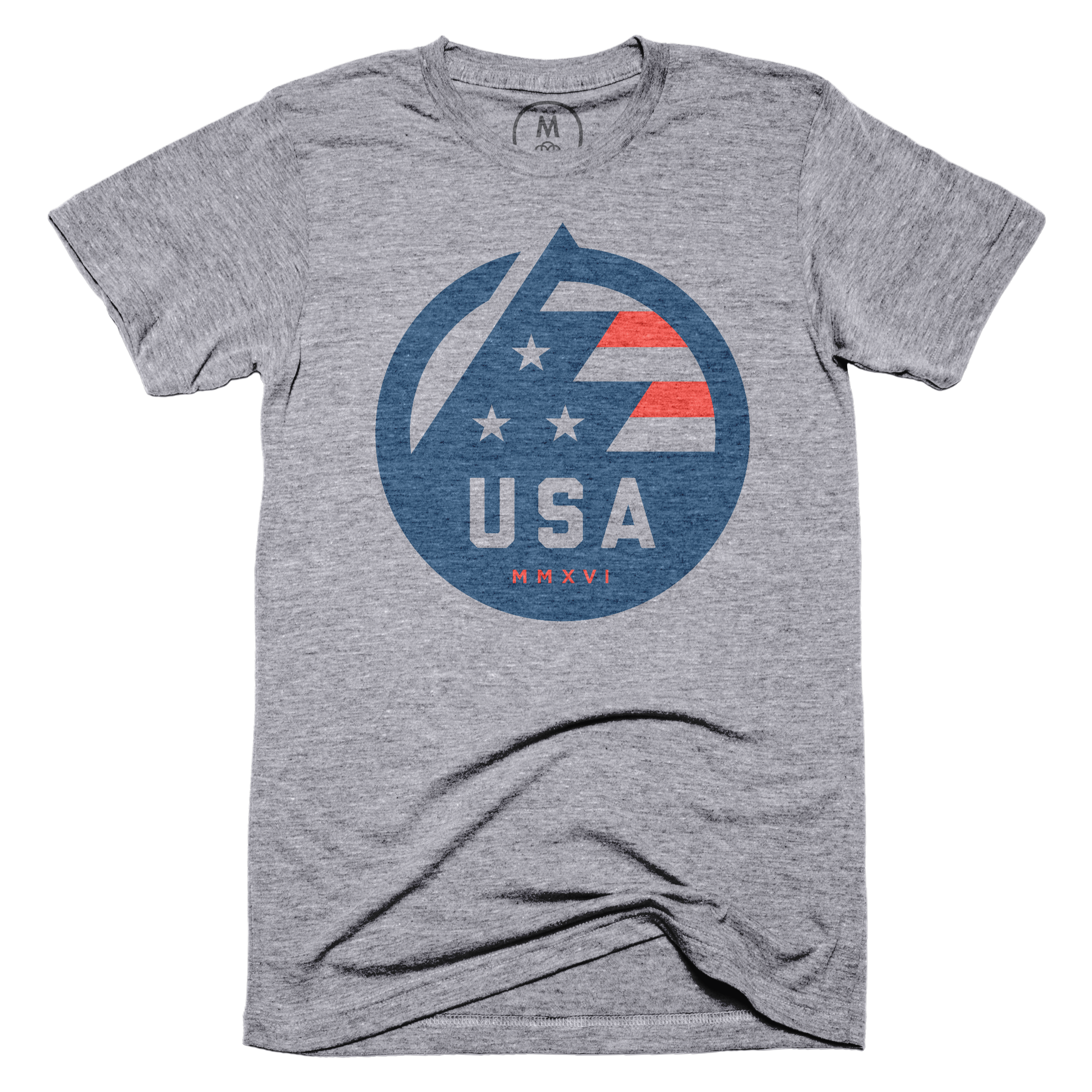 USA All The Way Premium Heather (Men's)