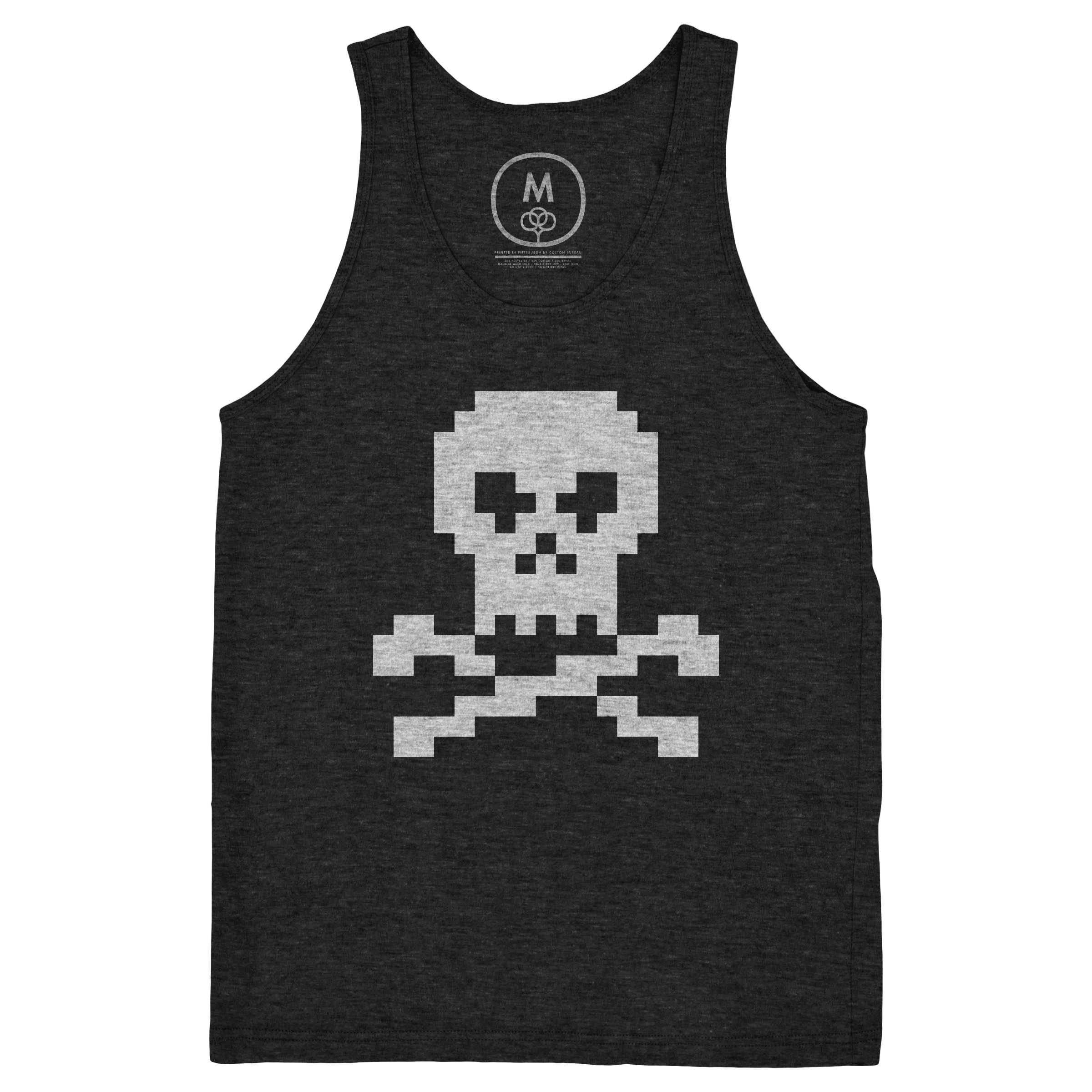Pixel Jolly Roger Tank Top