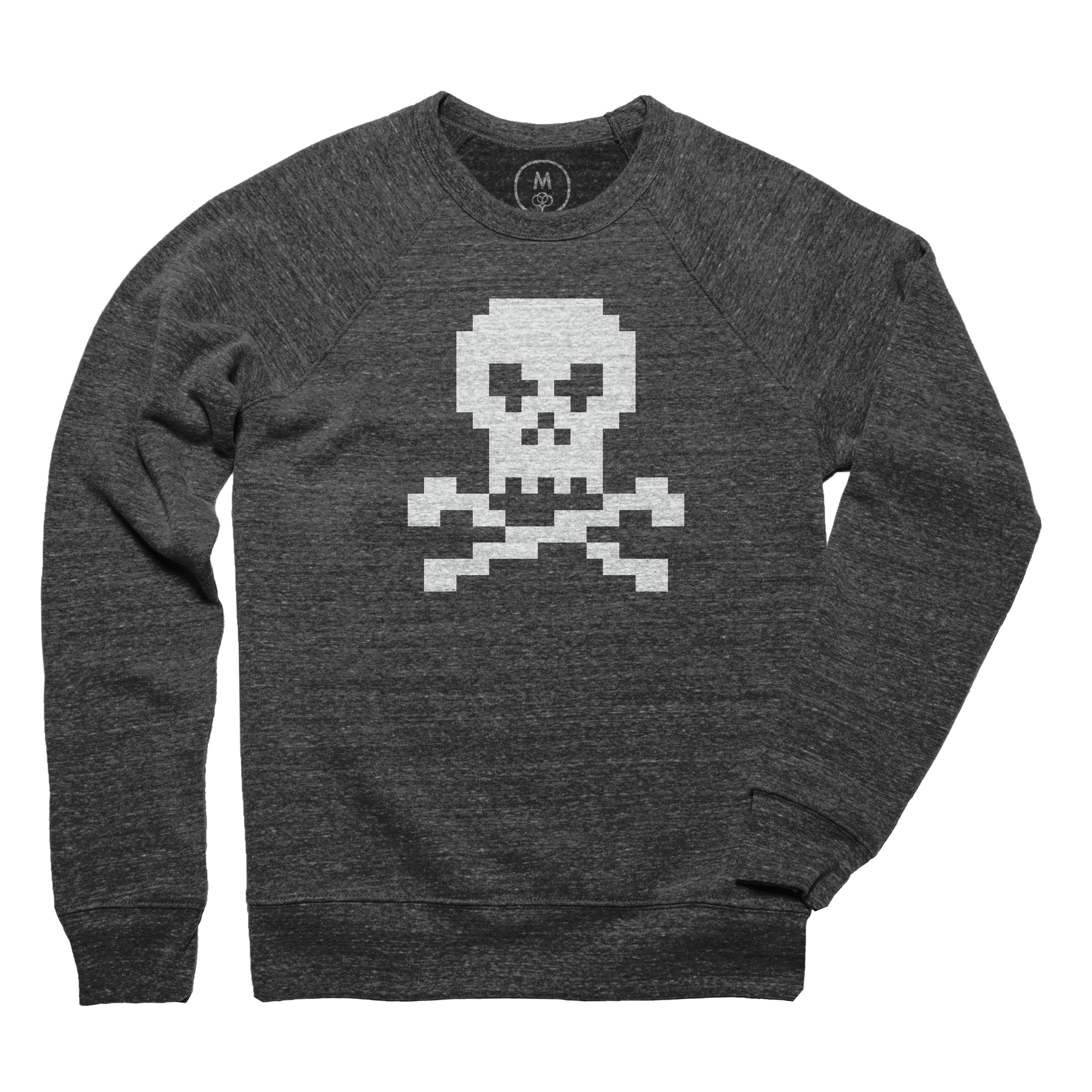 Pixel Jolly Roger Pullover Crewneck