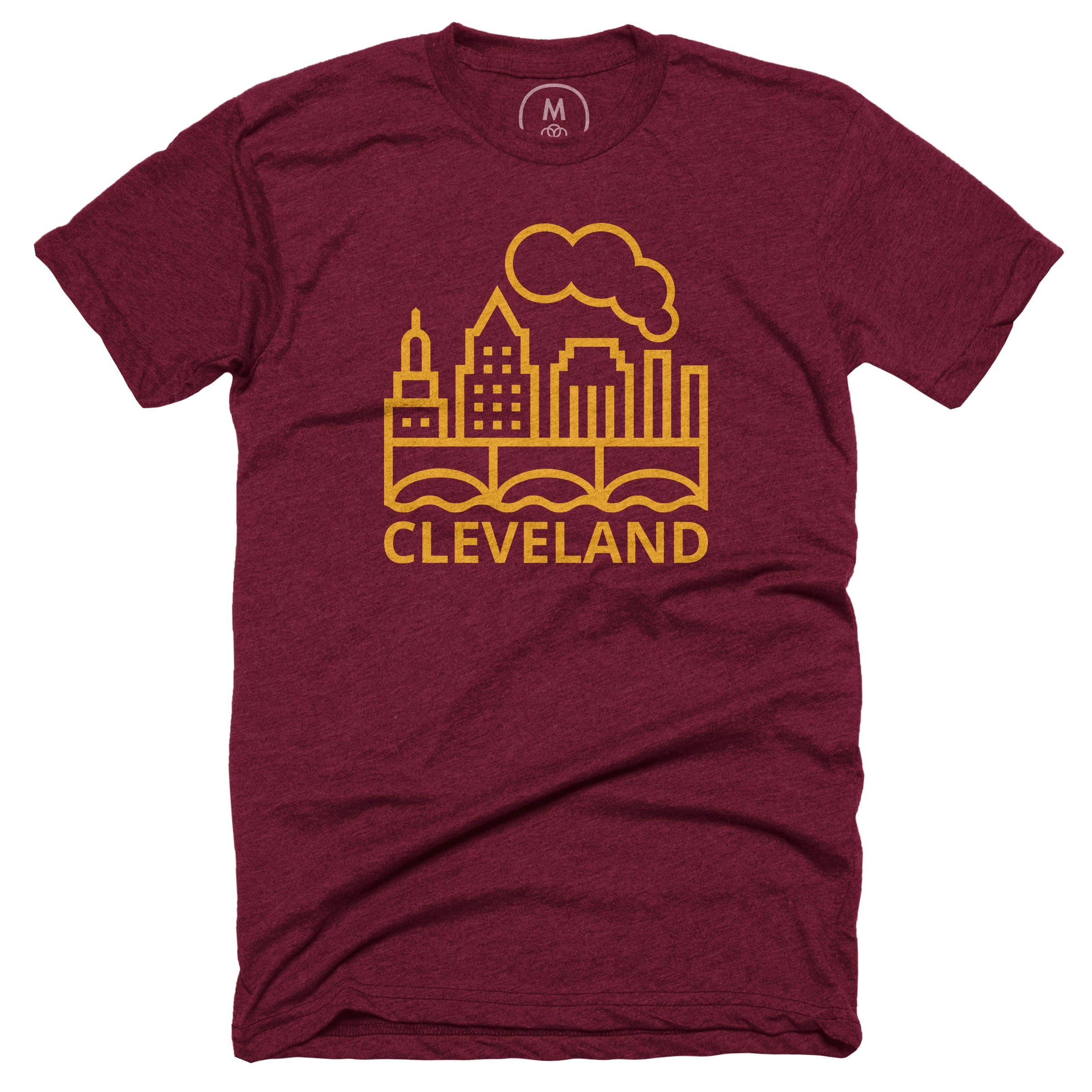 Cleveland Pride Heather Cranberry (Men's)