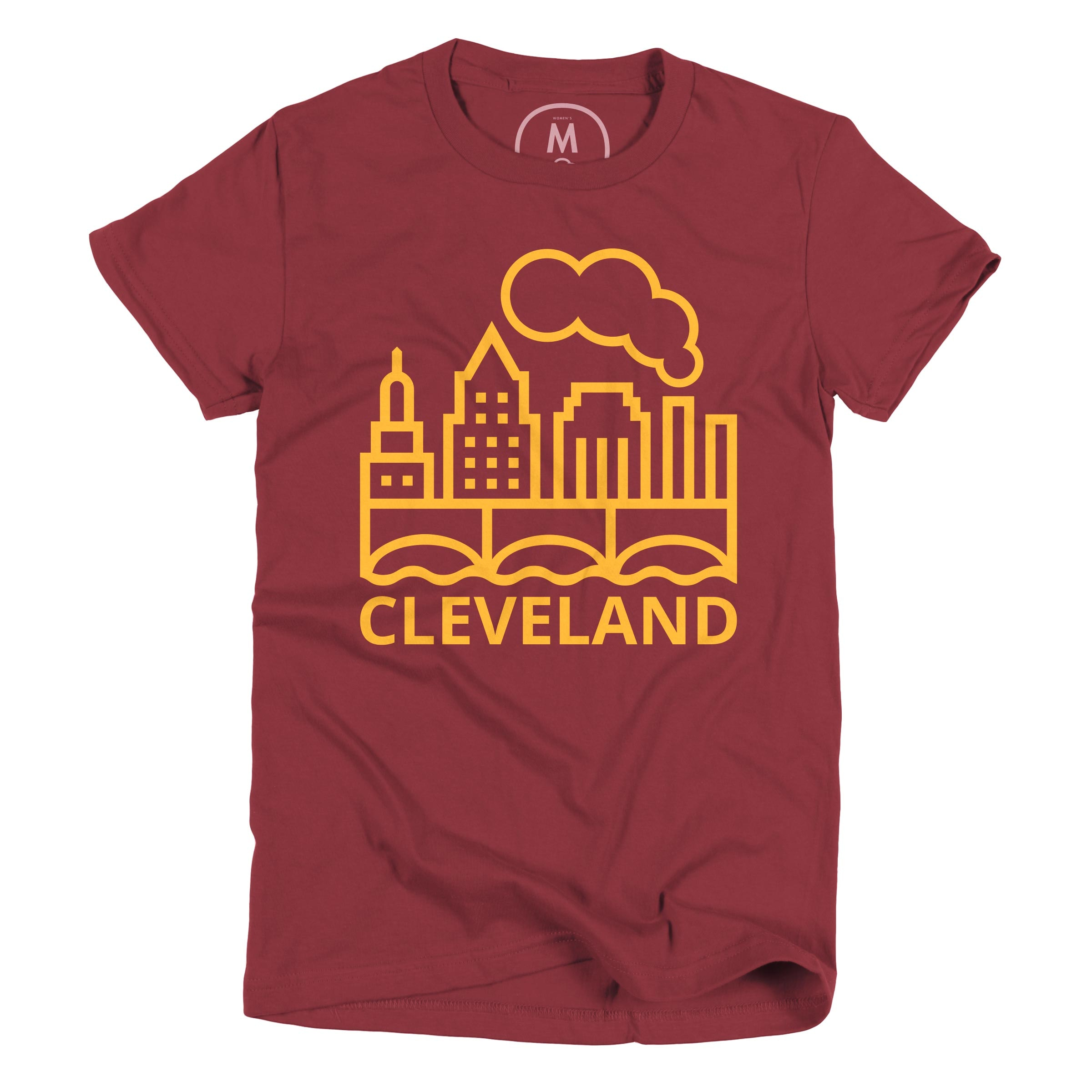 Cleveland Pride Cranberry (Women's)