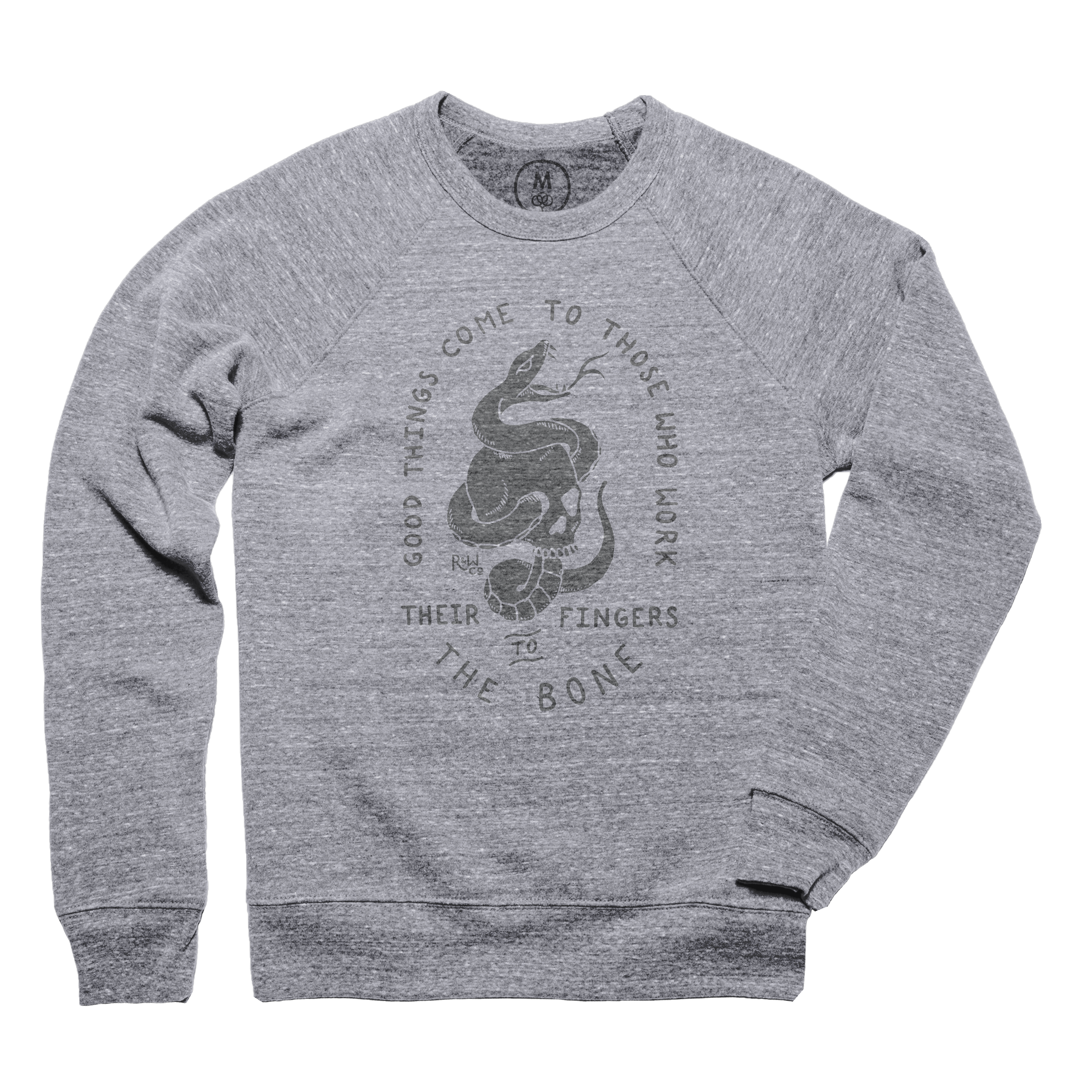 To The Bone Pullover Crewneck