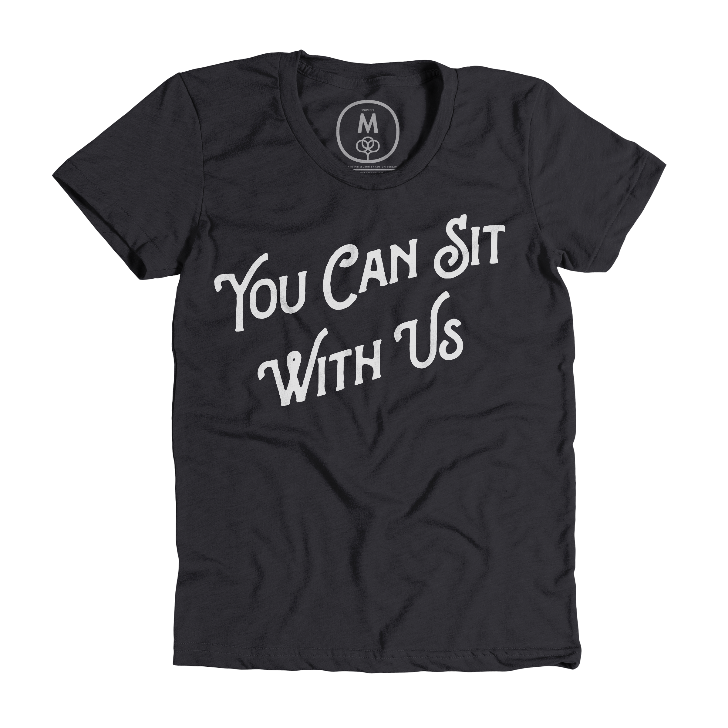 You Can Sit With Us Charcoal (Women's)