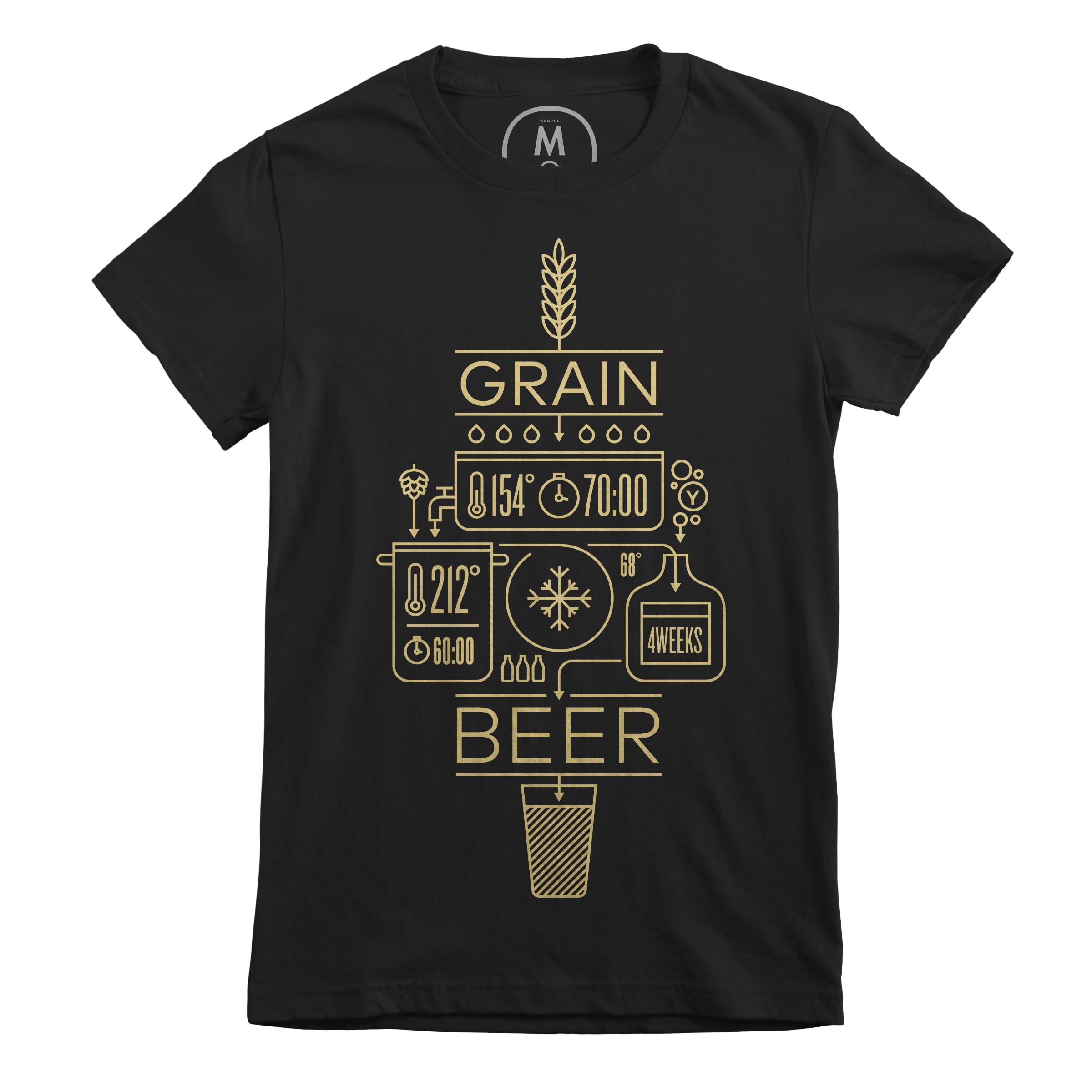 Beer Brewing Explained Black (Women's)