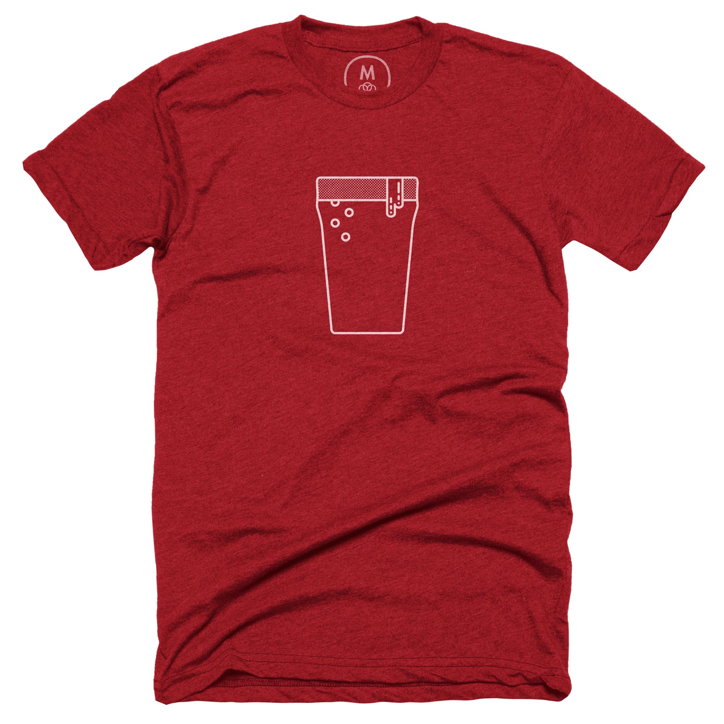 It's 5 o'clock somewhere. Heather Red (Men's)