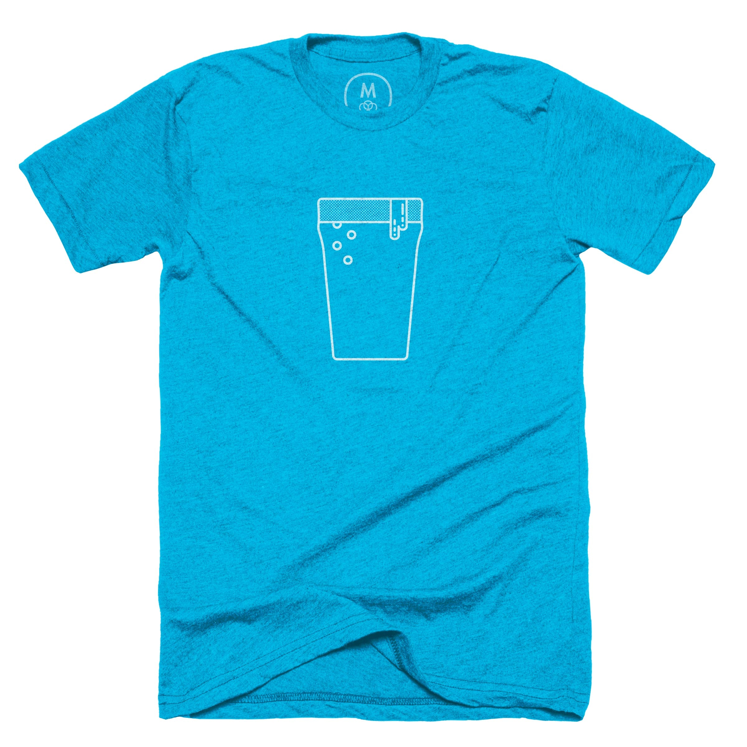 It's 5 o'clock somewhere. Neon Heather Blue (Men's)