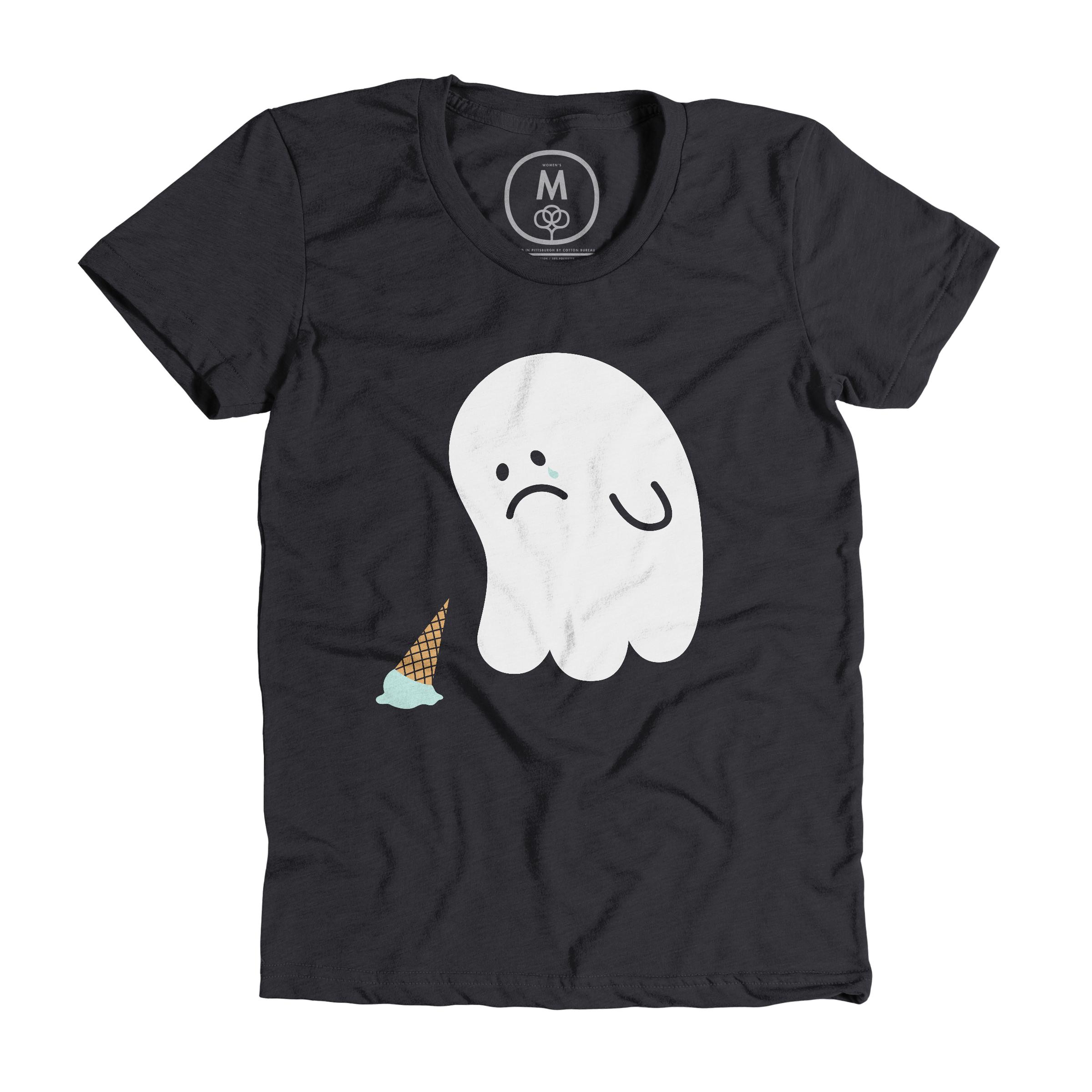 Sad Ghost Charcoal (Women's)