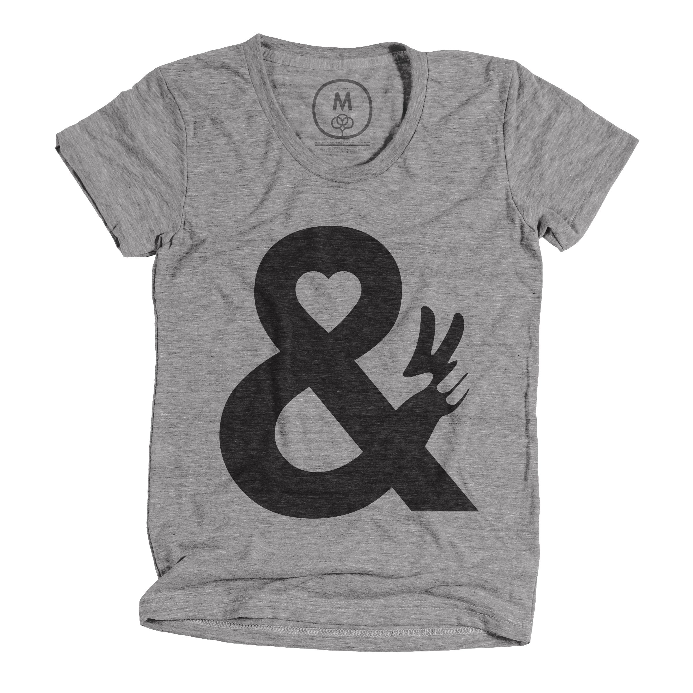 Love & Peace Athletic Grey (Women's)