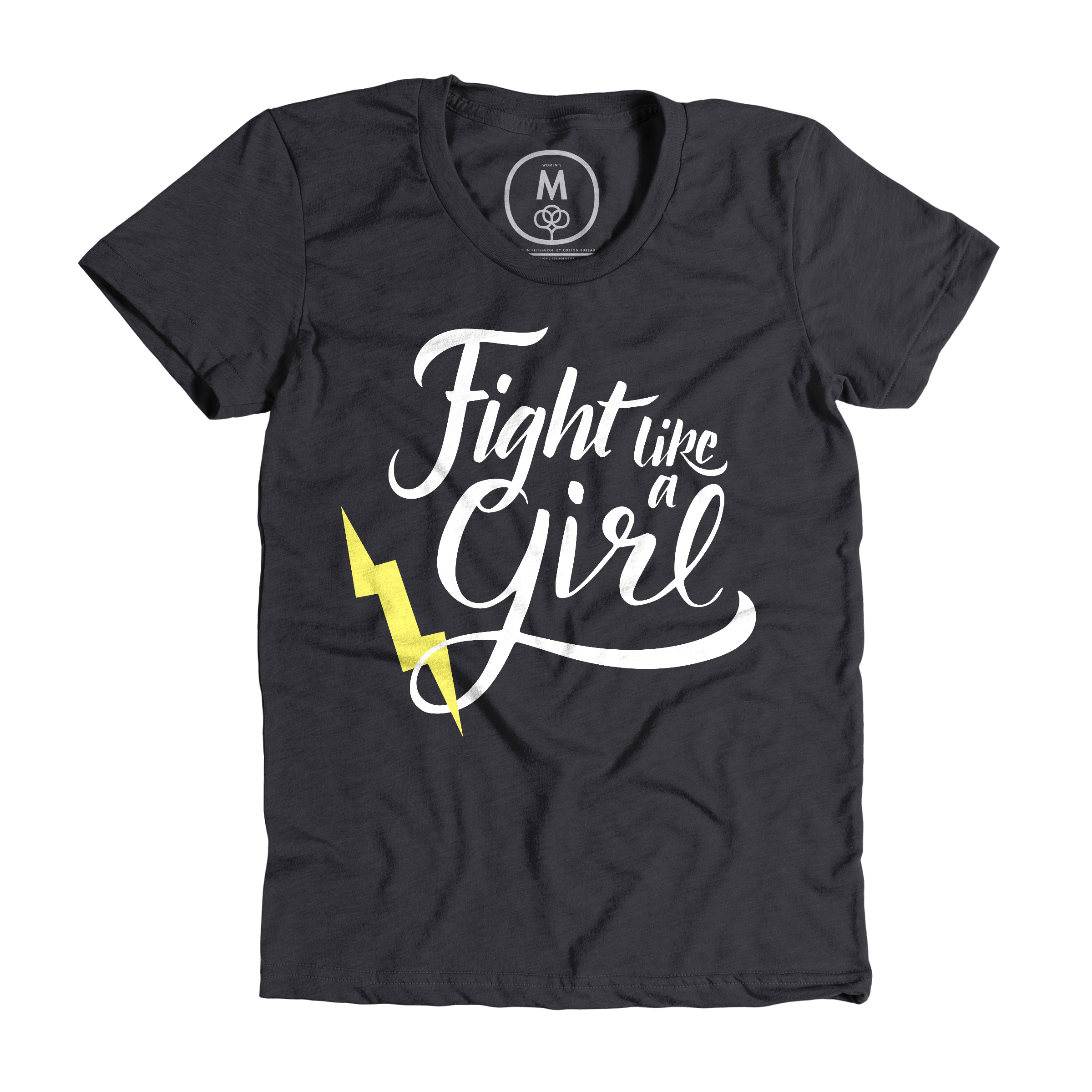 Fight Like a Girl Charcoal (Women's)