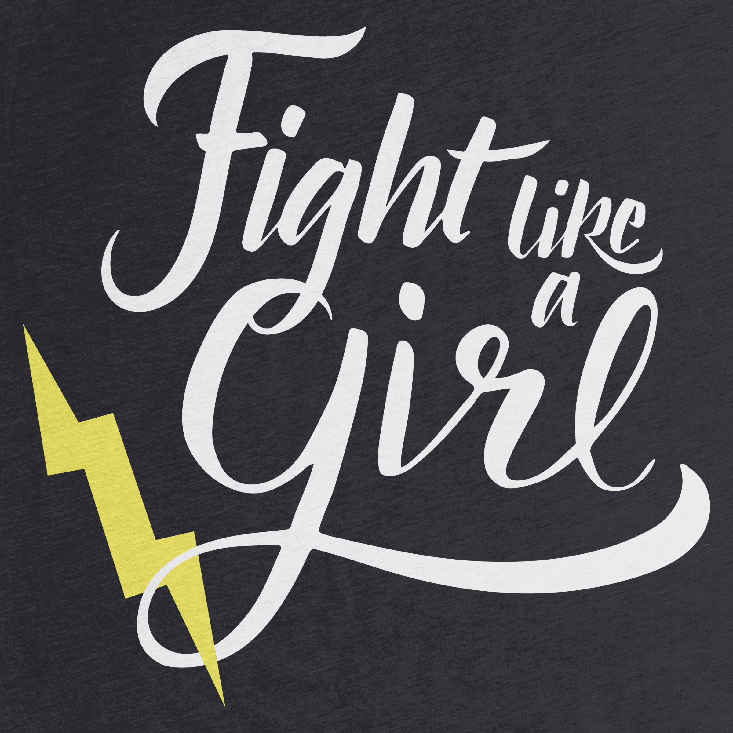 Fight Like a Girl Detail