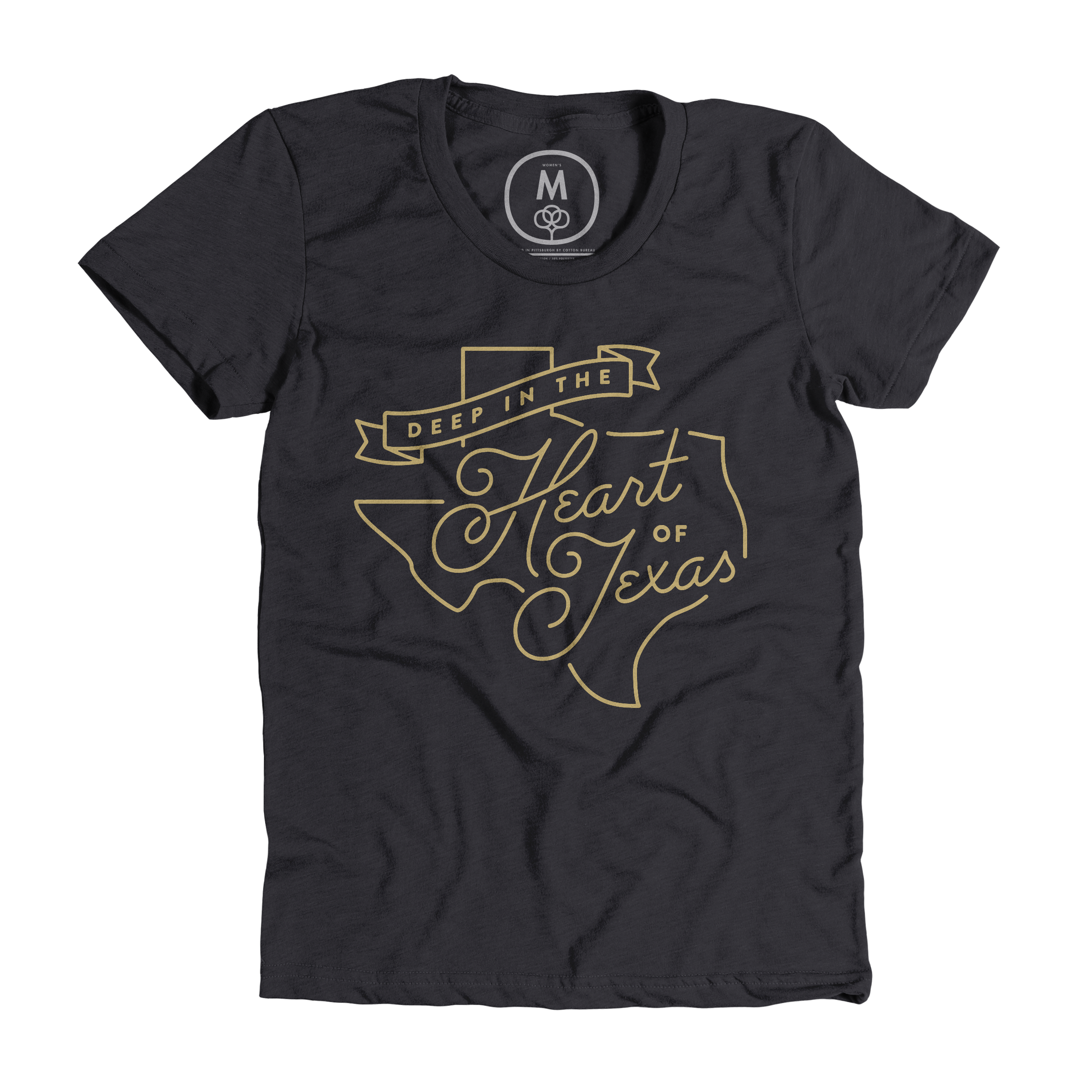 Deep in the Heart of Texas Charcoal (Women's)