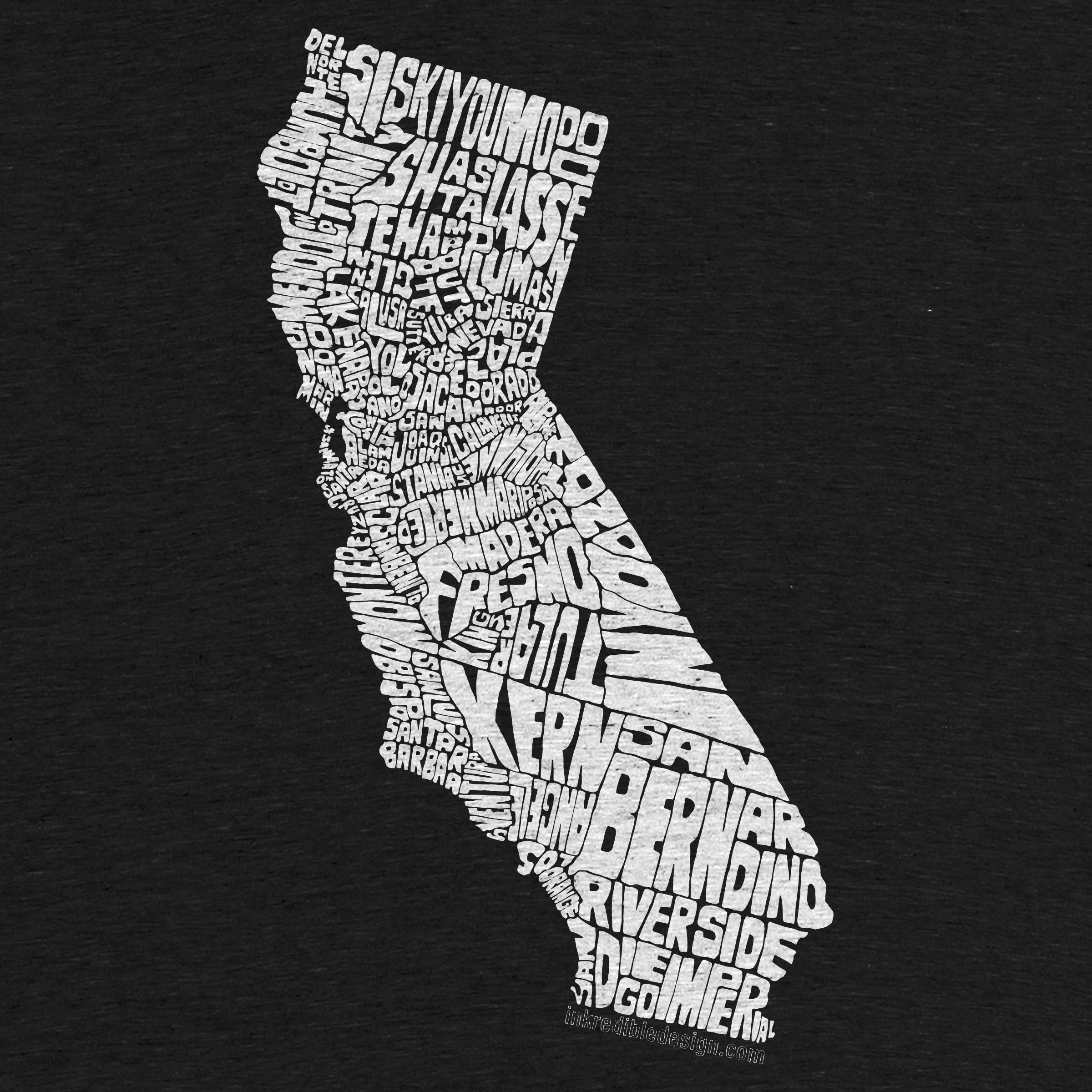 Cali County Map