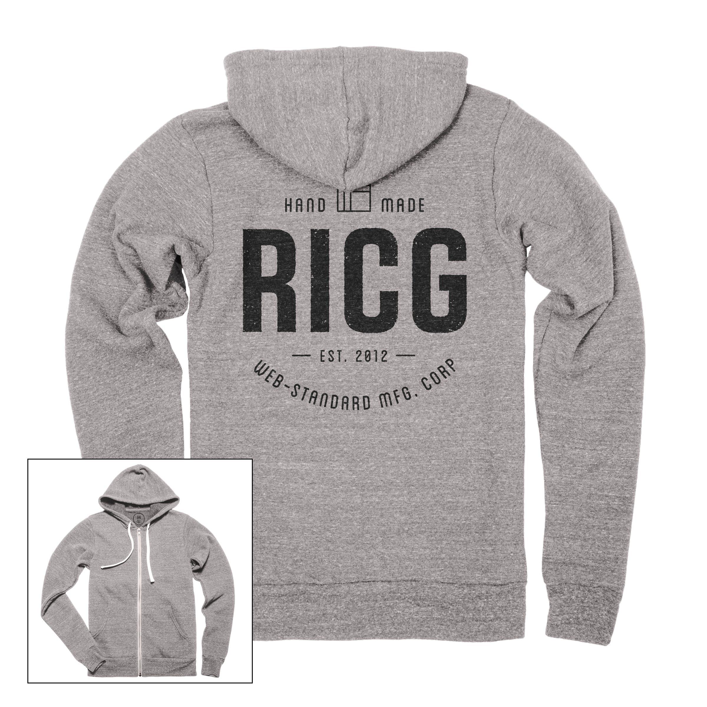 RICG Web-Standard Mfg. Corp Zip Hoodie