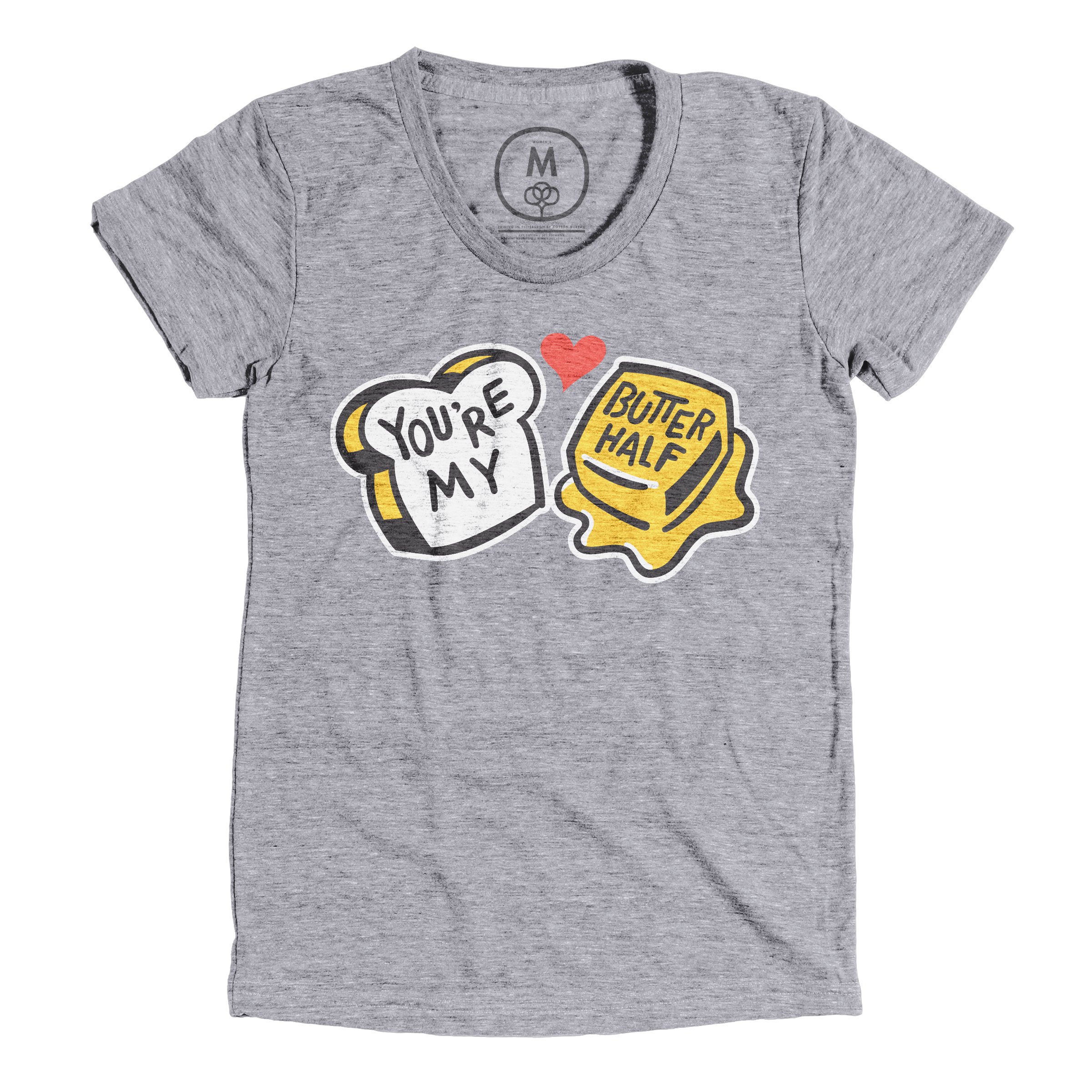 You're My Butter Half Premium Heather (Women's)