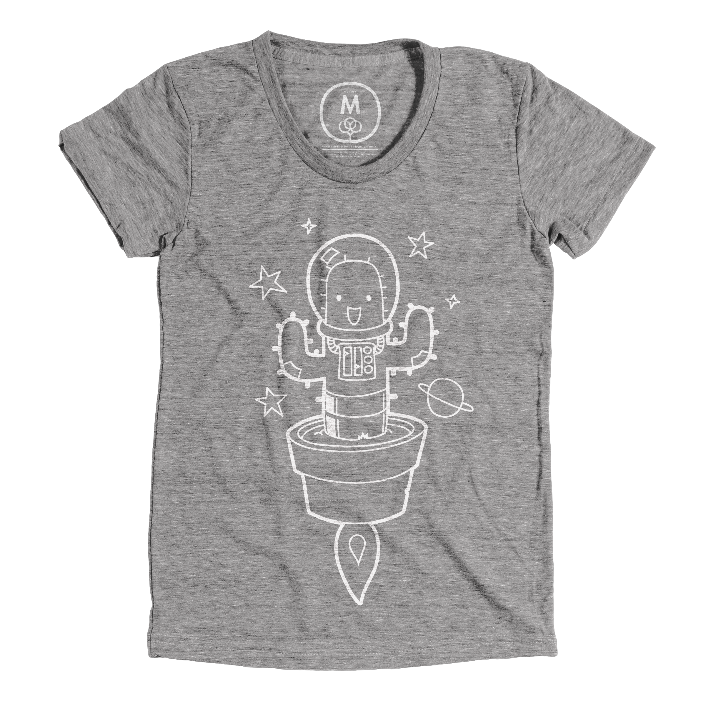 Space Cactus Athletic Grey (Women's)