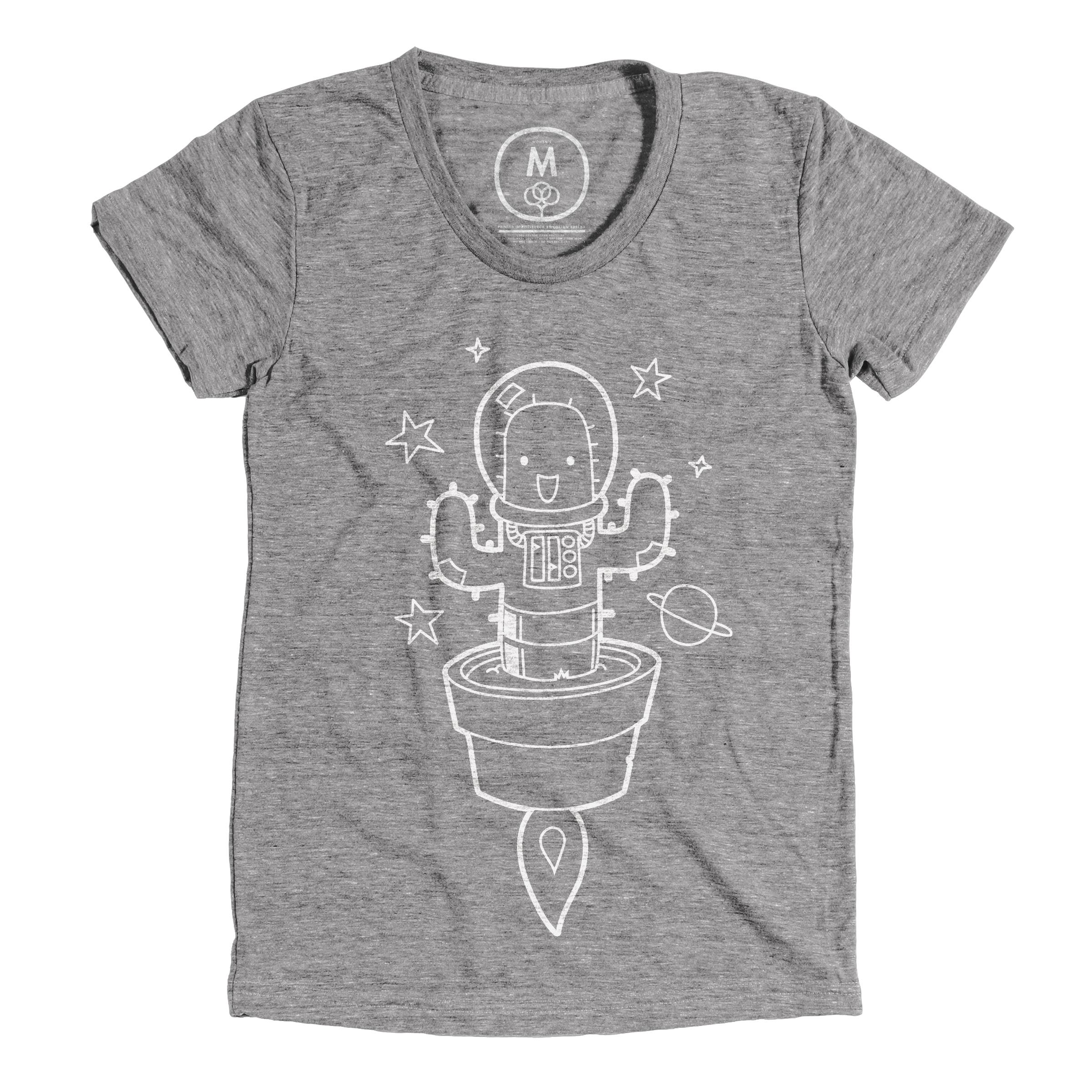 Space Cactus Athletic Grey (Women's)