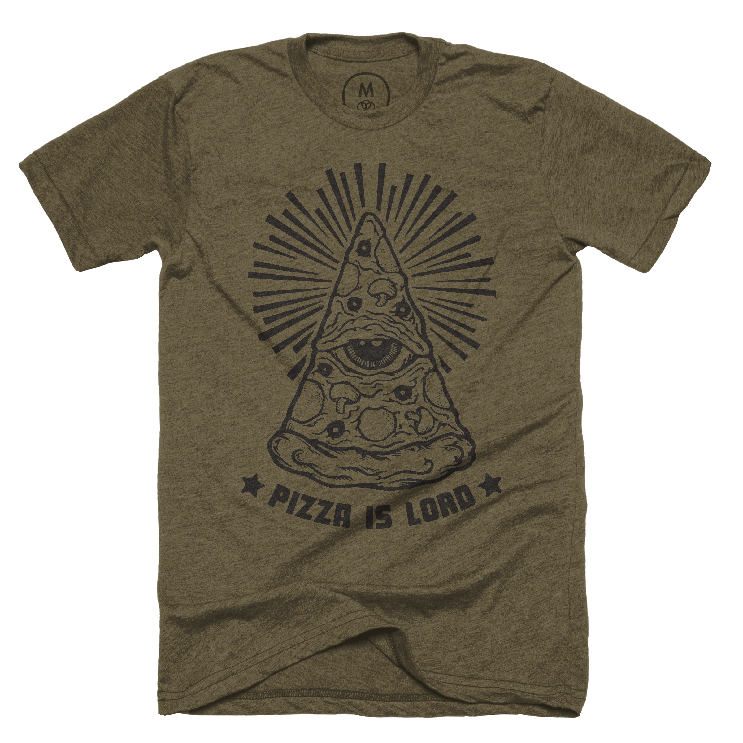 Pizza Is Lord Military Green (Men's)