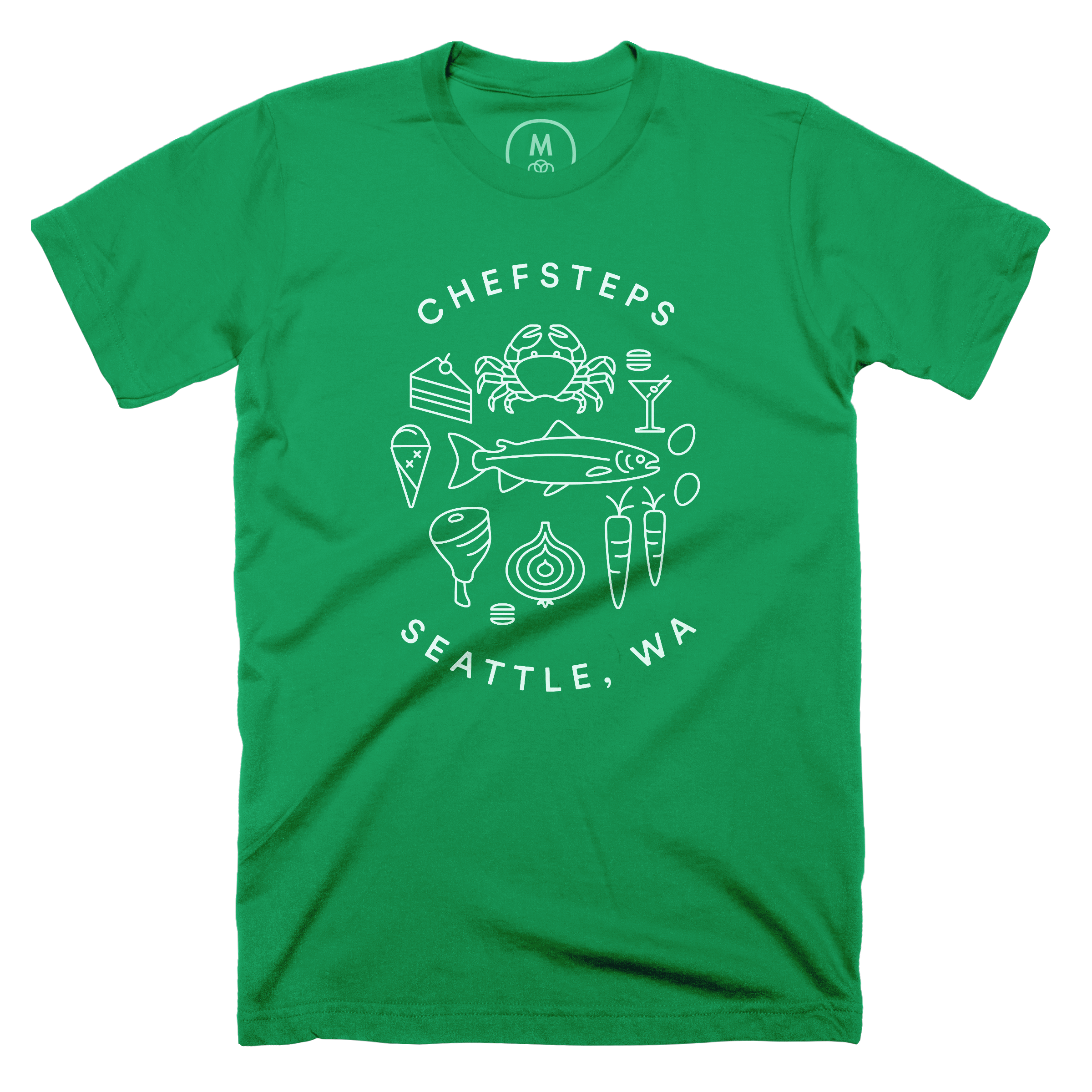 ChefSteps Coat of Arms Kelly Green (Men's)