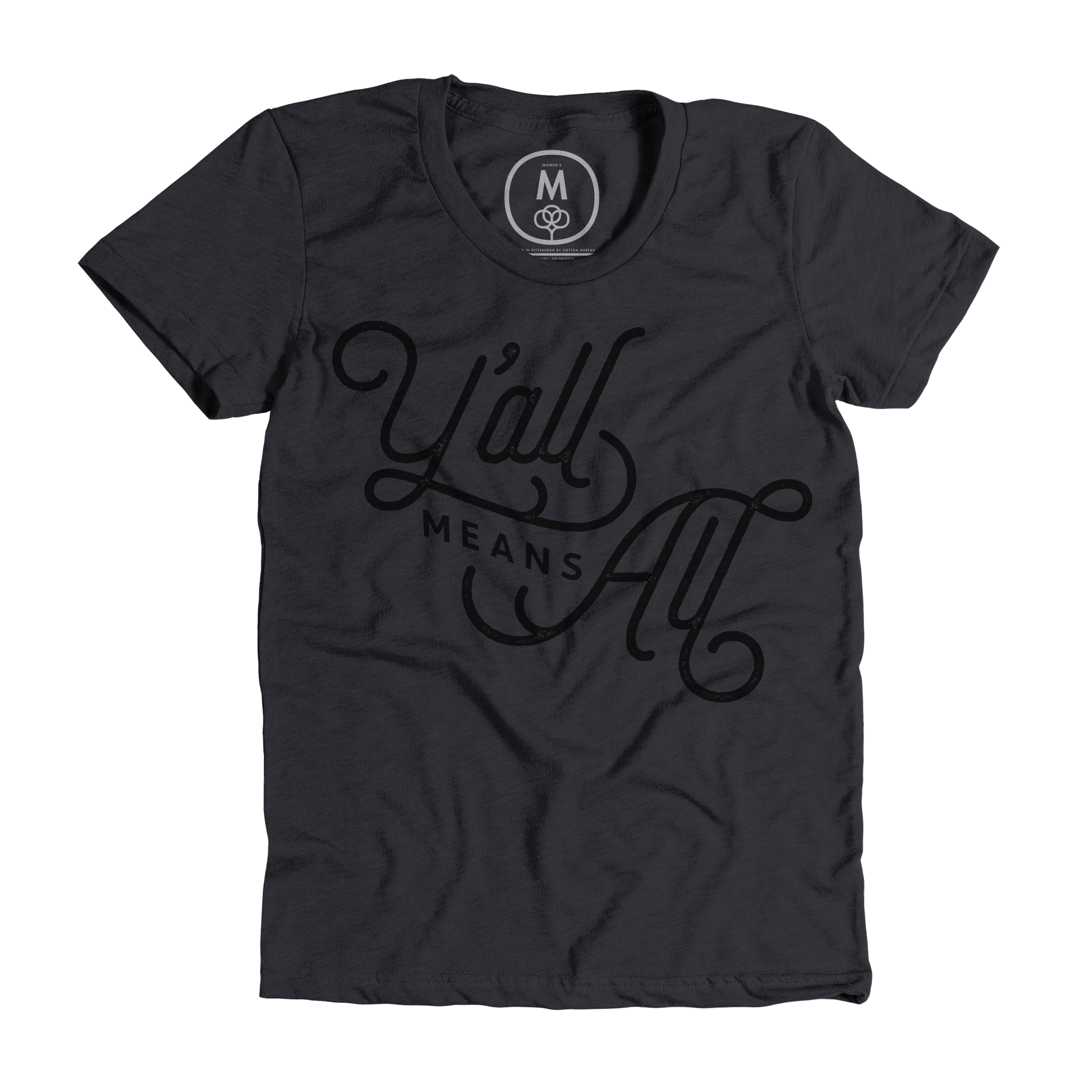 Y'all Means All Charcoal (Women's)