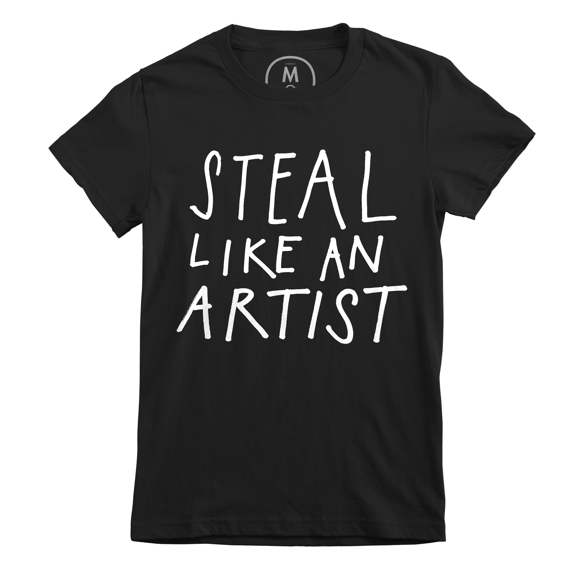 Steal Like An Artist Black (Women's)