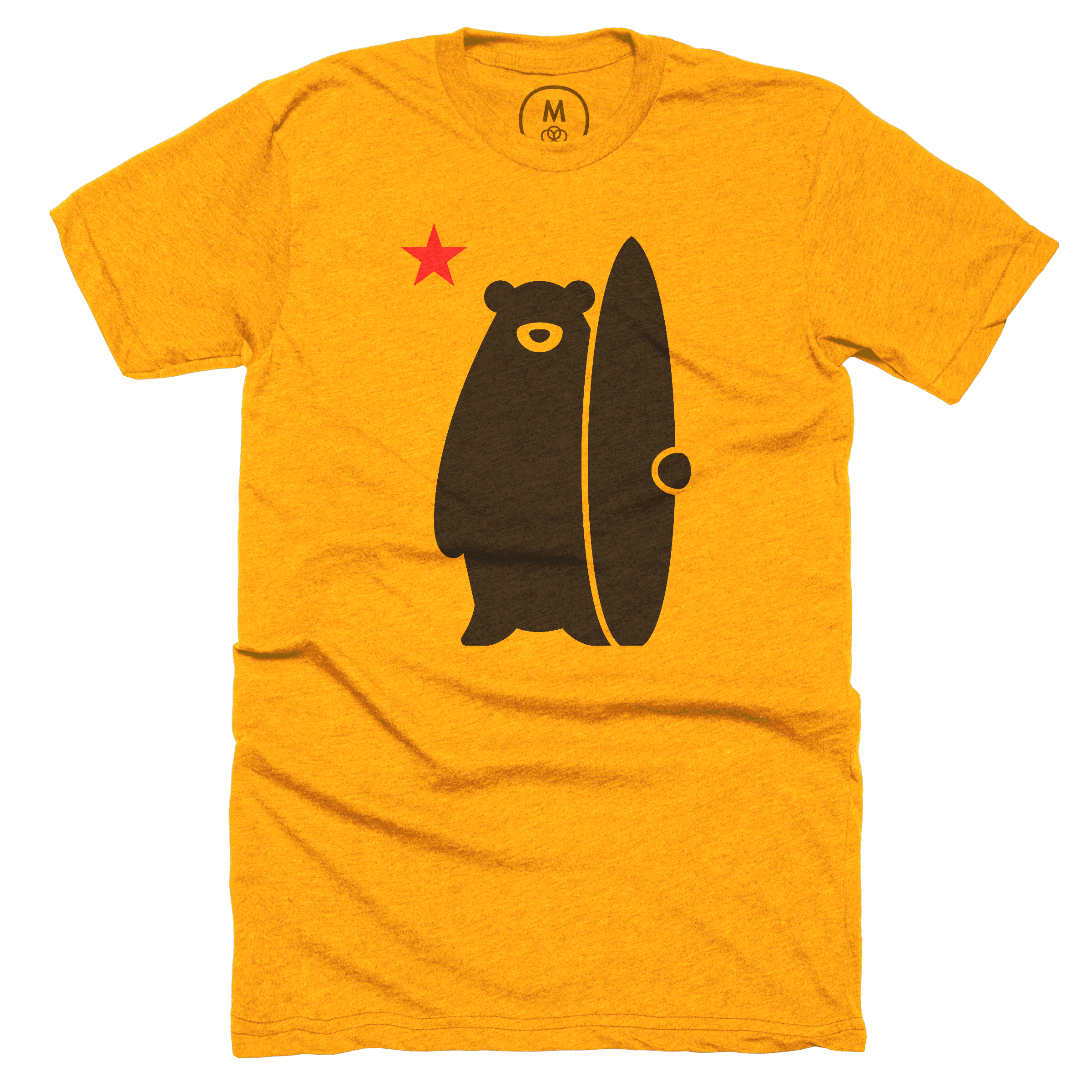 California Surf Bear Orange (Men's)