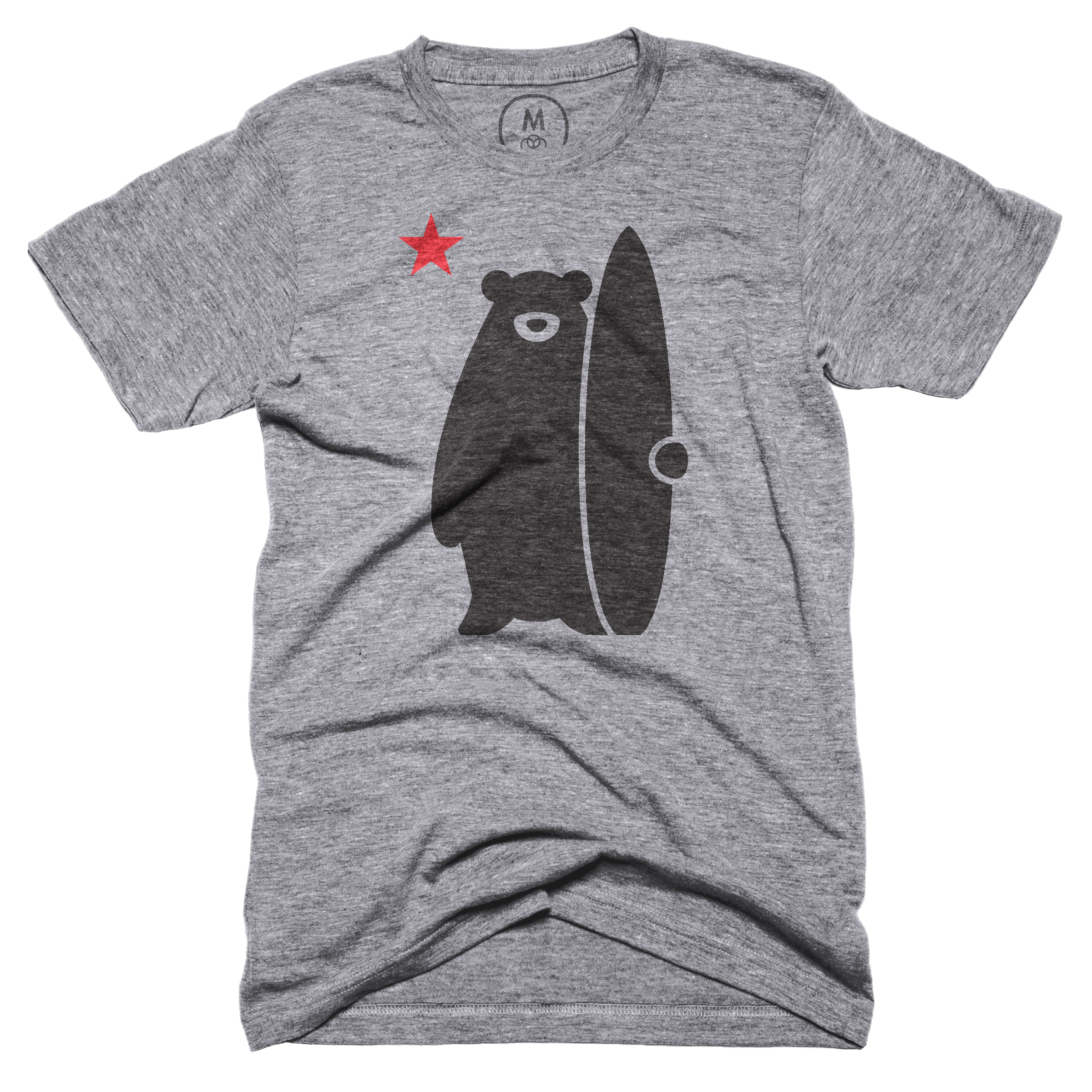 California Surf Bear Premium Heather (Men's)