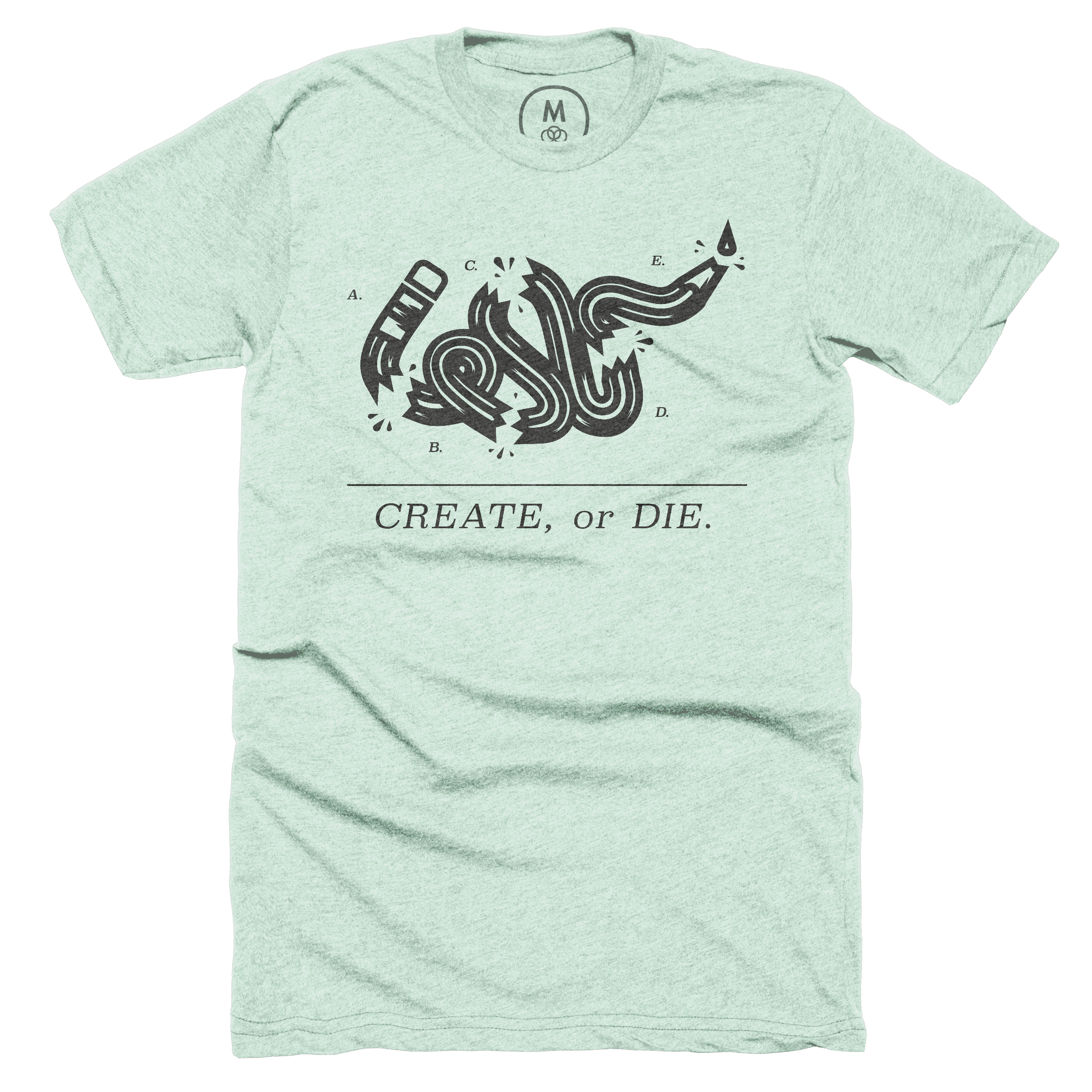 Create or Die. Mint (Men's)