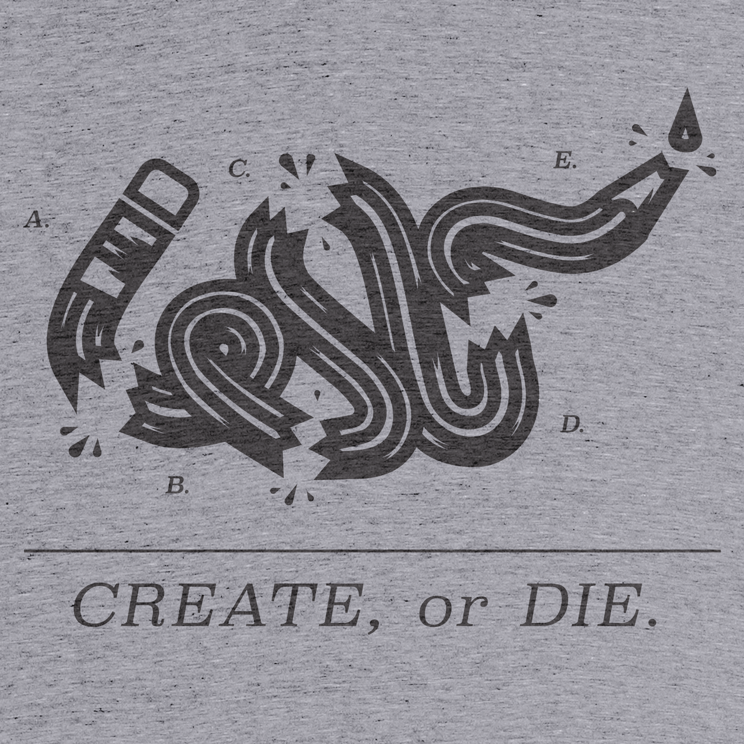 Create or Die.