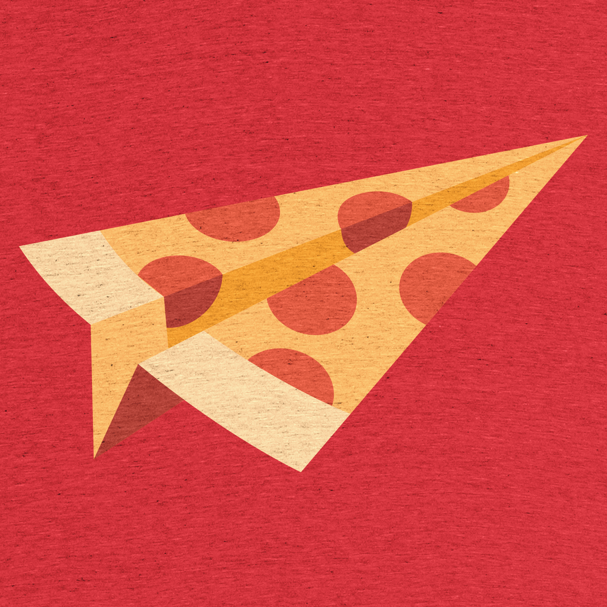 Pizza, fast. Detail