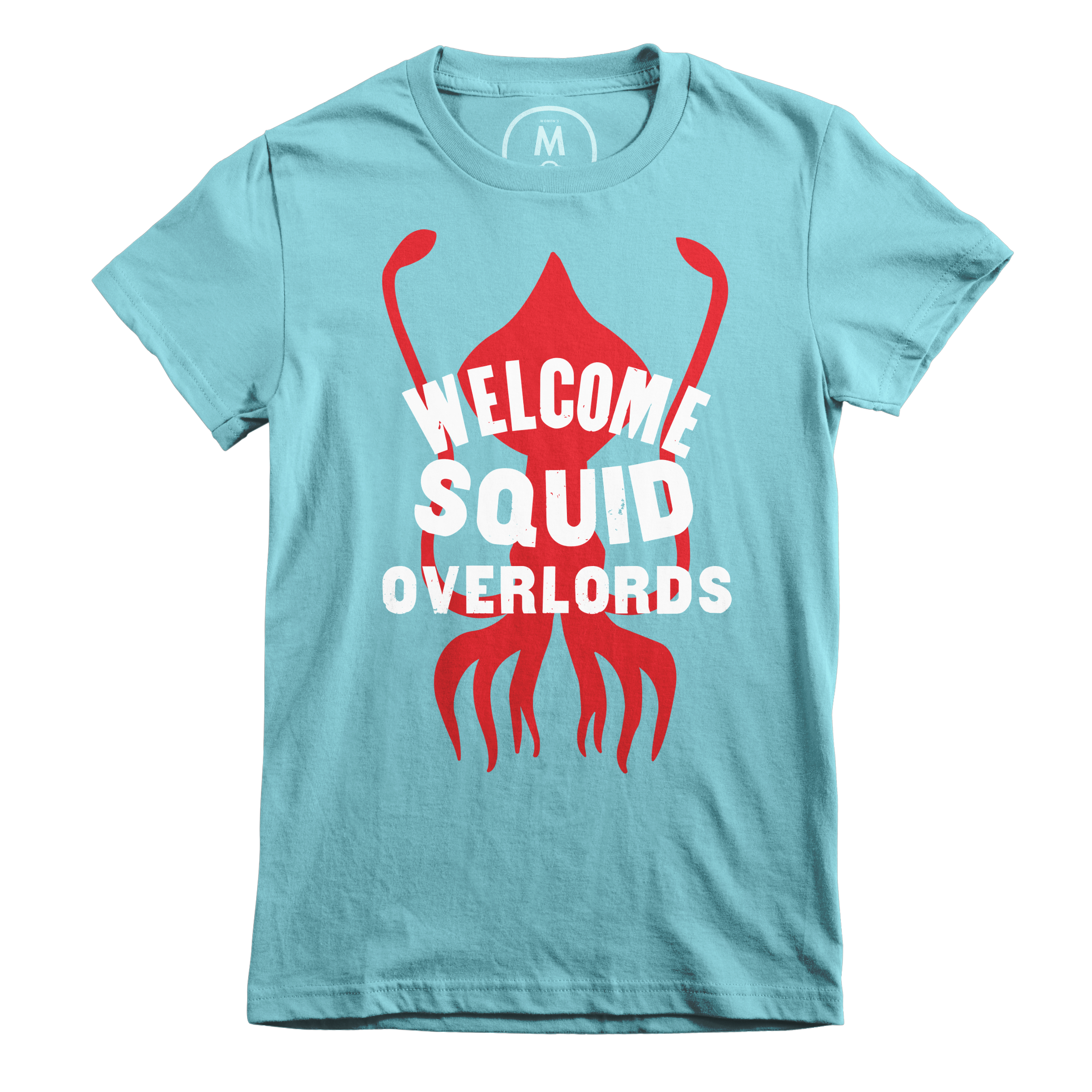 Welcome Squid Overlords Tahiti Blue (Women's)