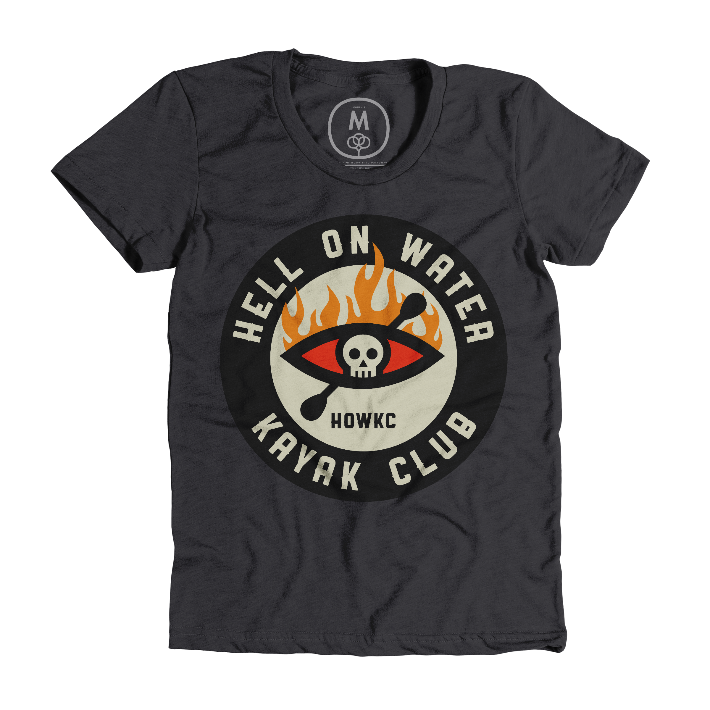Hell On Water Kayak Club Charcoal (Women's)
