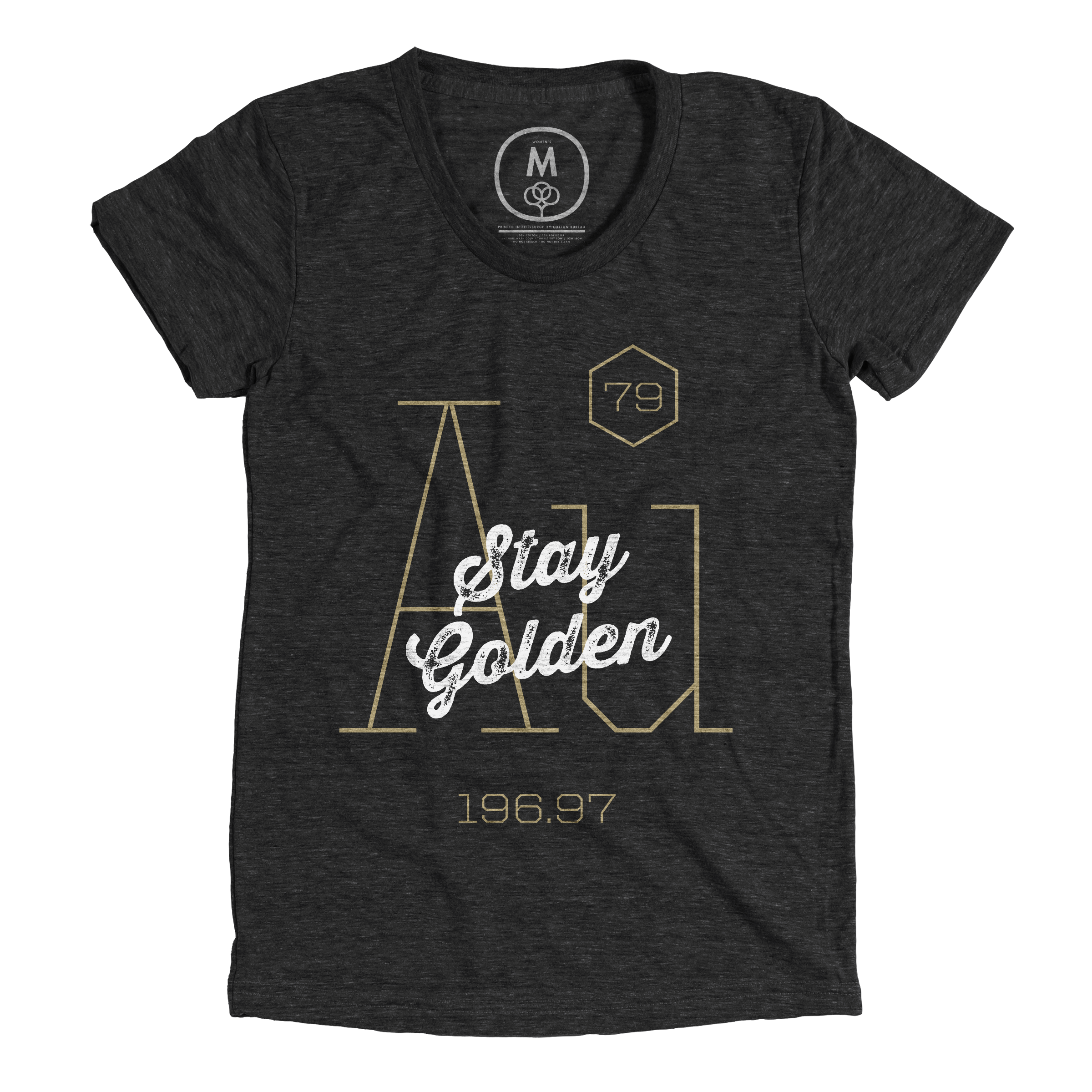Stay Golden Vintage Black (Women's)